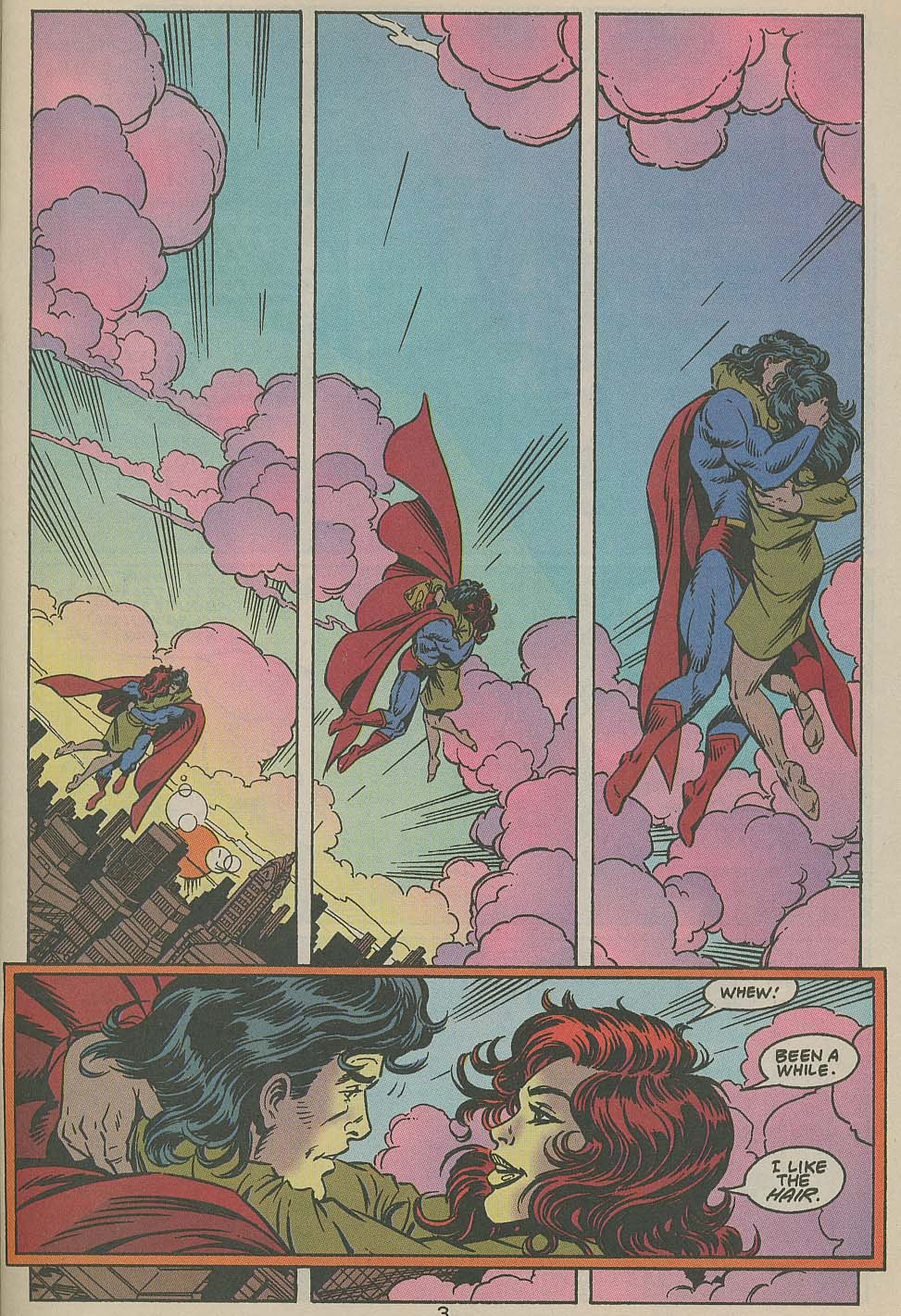 Read online Adventures of Superman (1987) comic -  Issue #505 - 4
