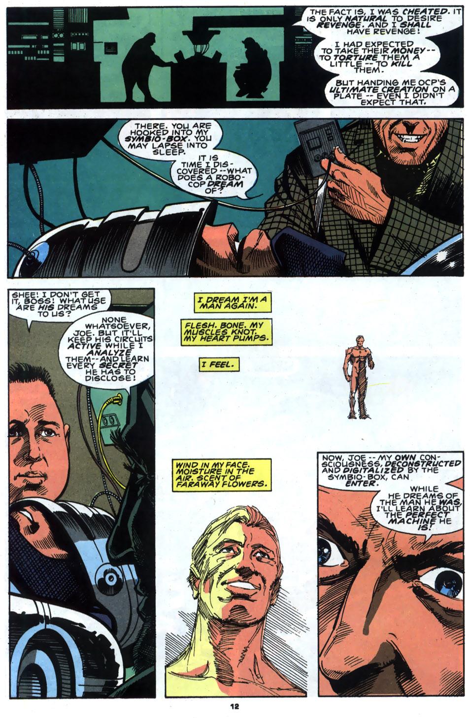 Read online Robocop (1990) comic -  Issue #4 - 10