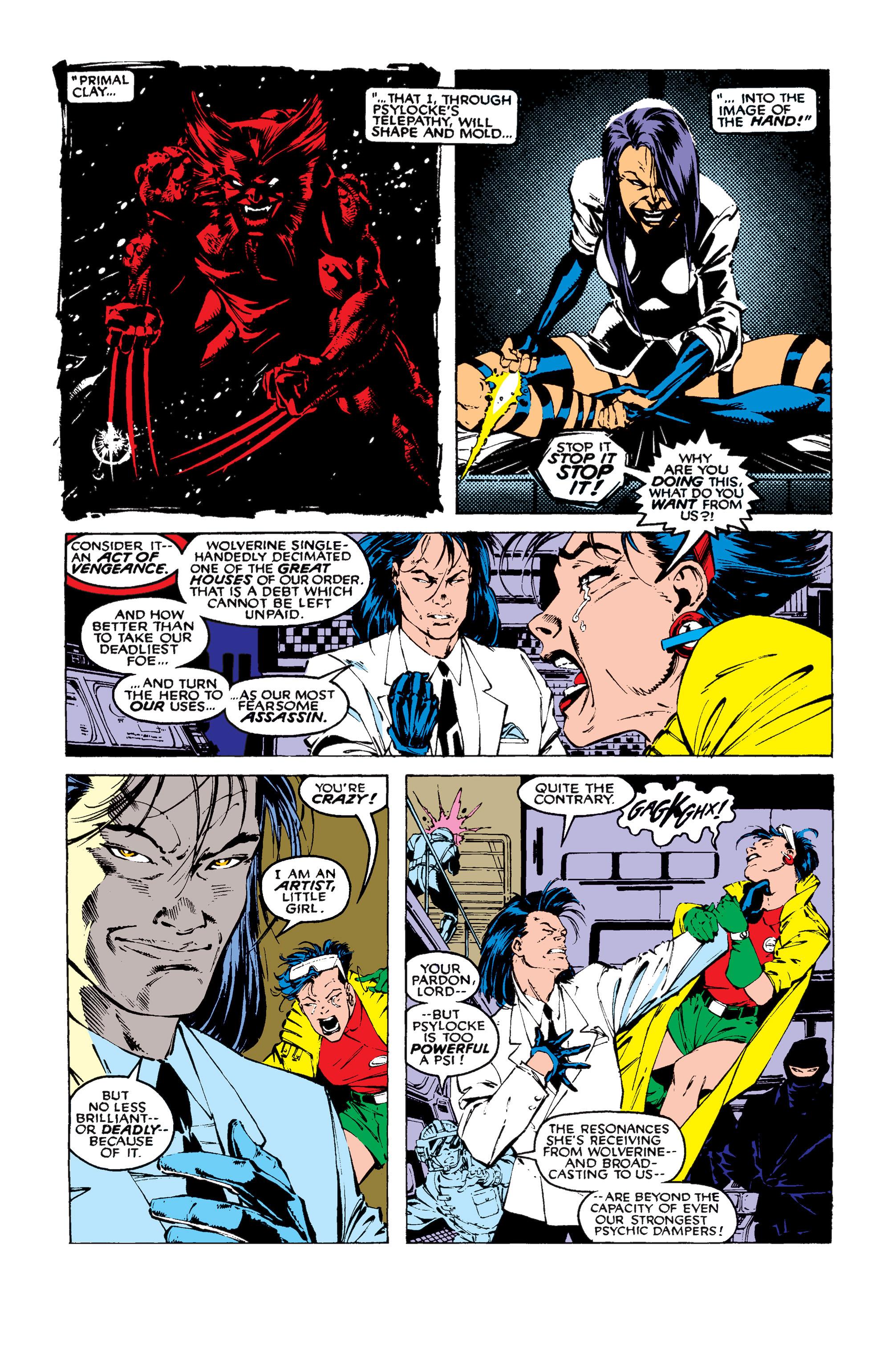 Read online Uncanny X-Men (1963) comic -  Issue #258 - 6