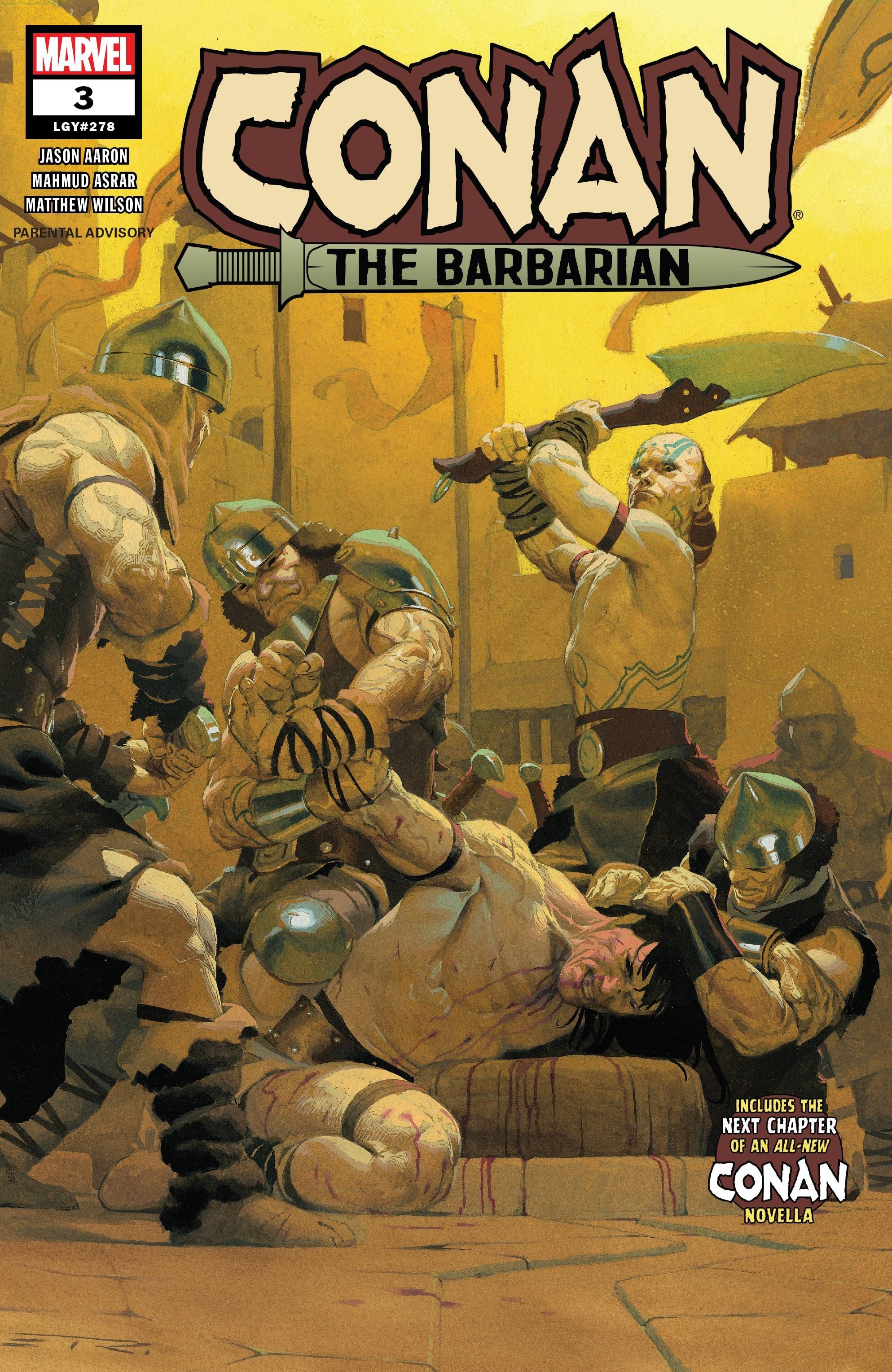 Conan the Barbarian (2019) 3 Page 1