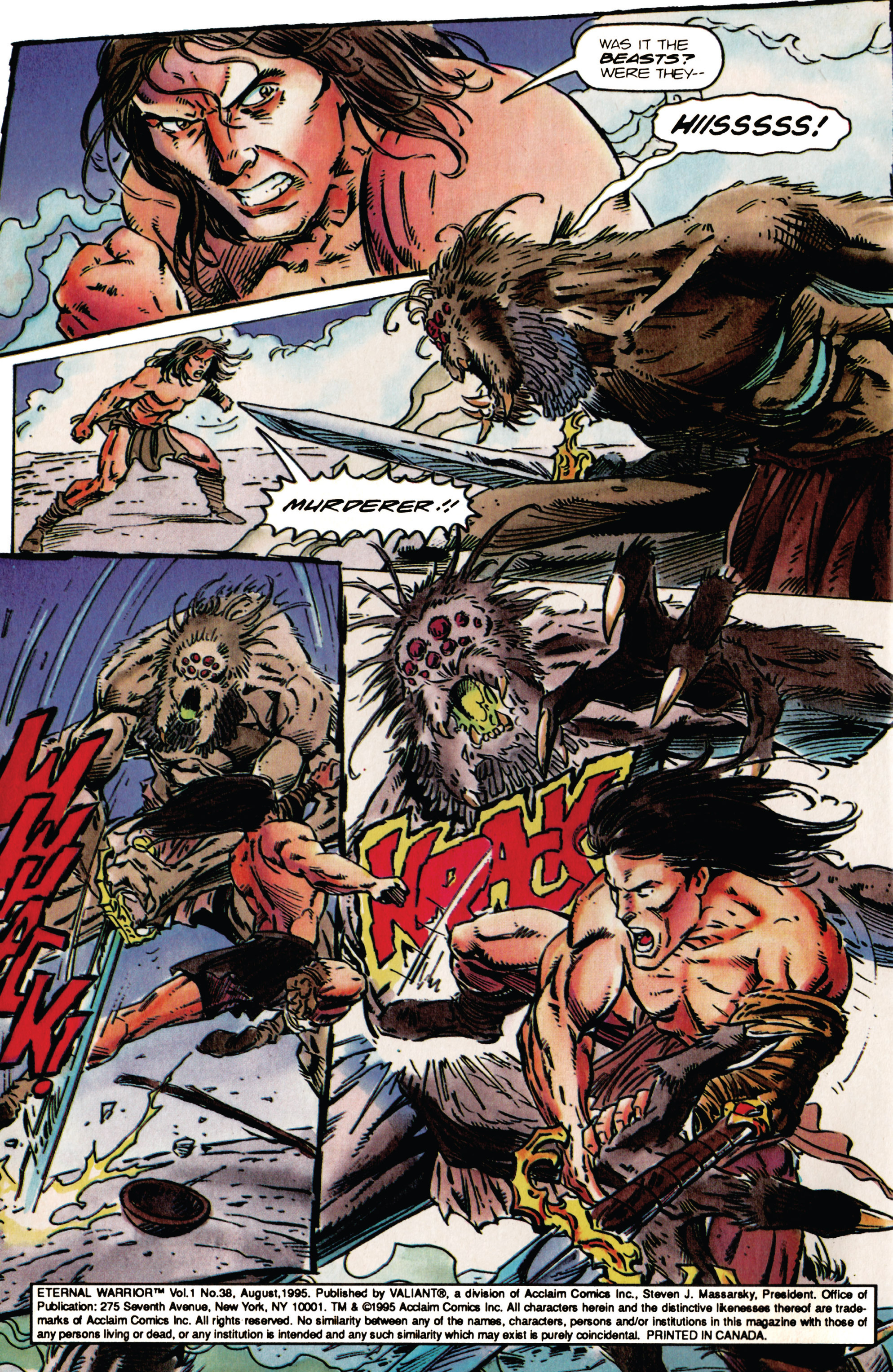 Read online Eternal Warrior (1992) comic -  Issue #38 - 3