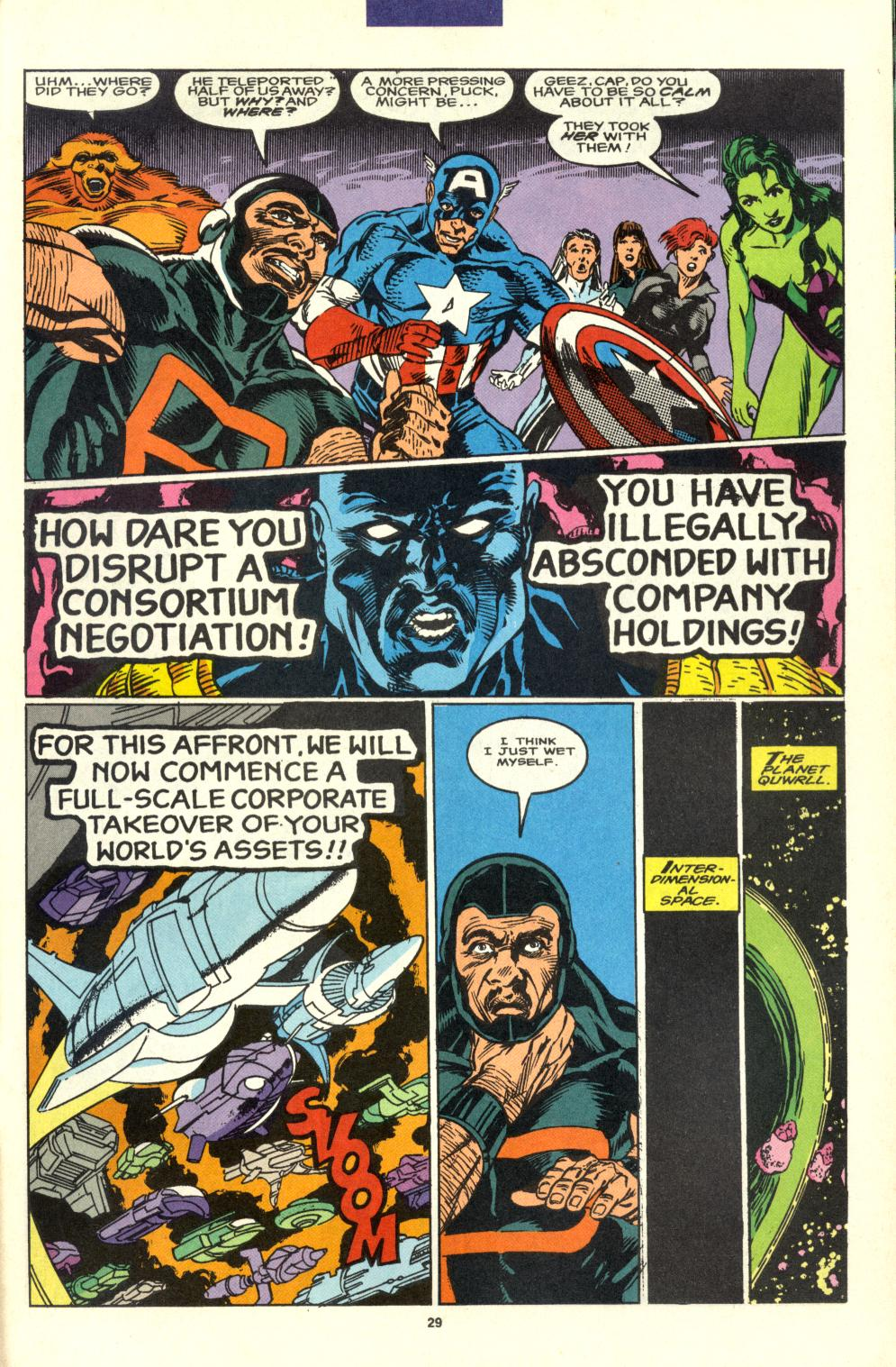Read online Alpha Flight (1983) comic -  Issue #99 - 23