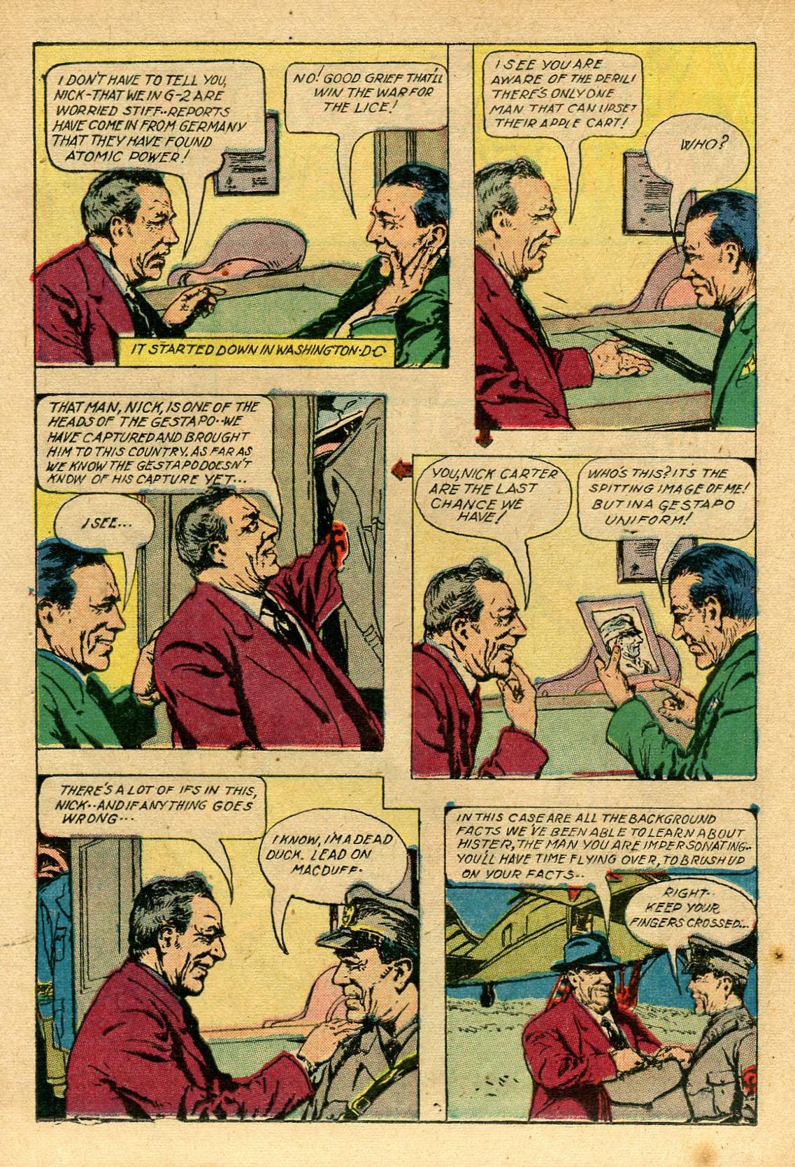 Read online Shadow Comics comic -  Issue #69 - 24
