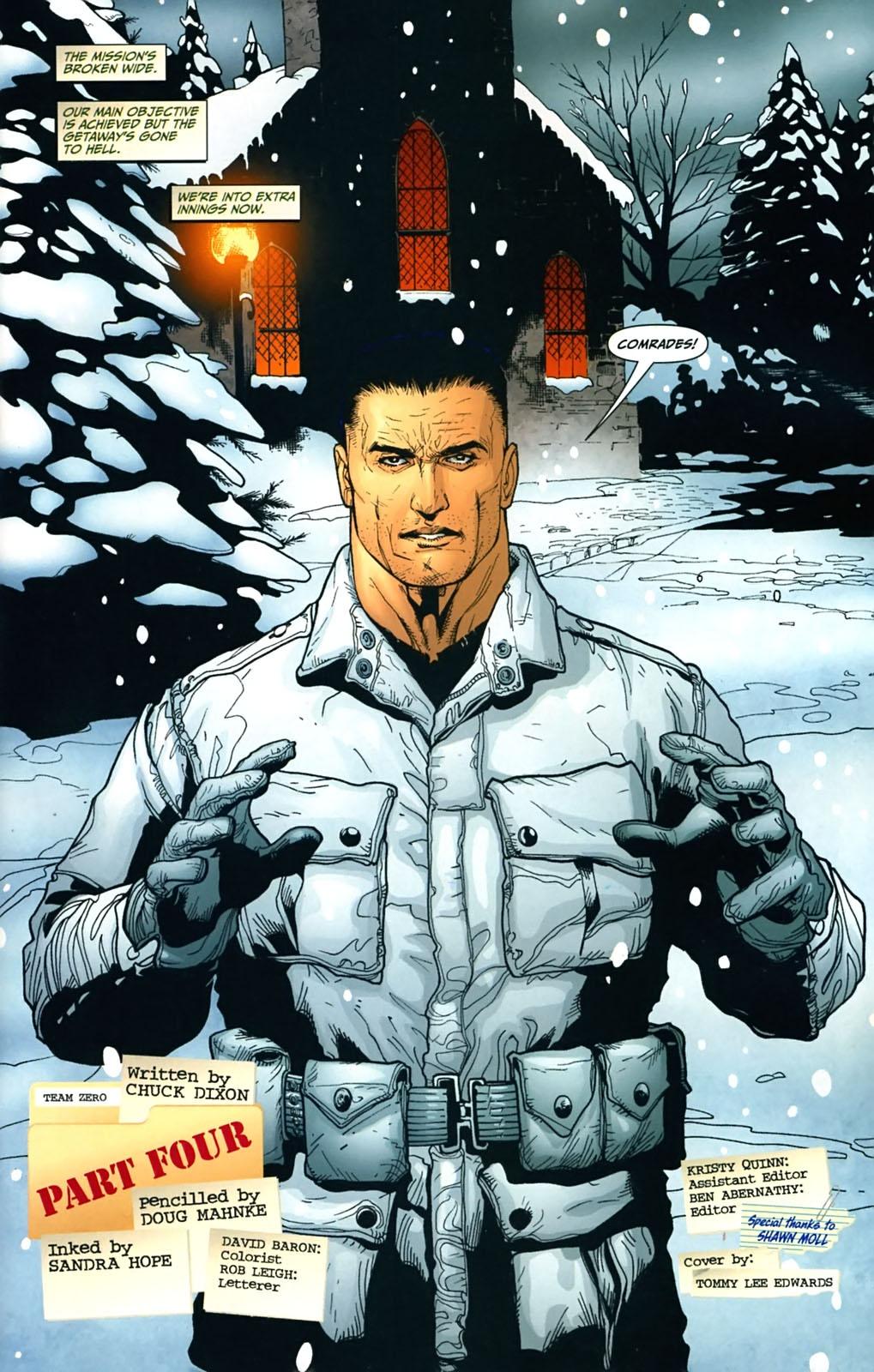 Read online Team Zero comic -  Issue #4 - 2