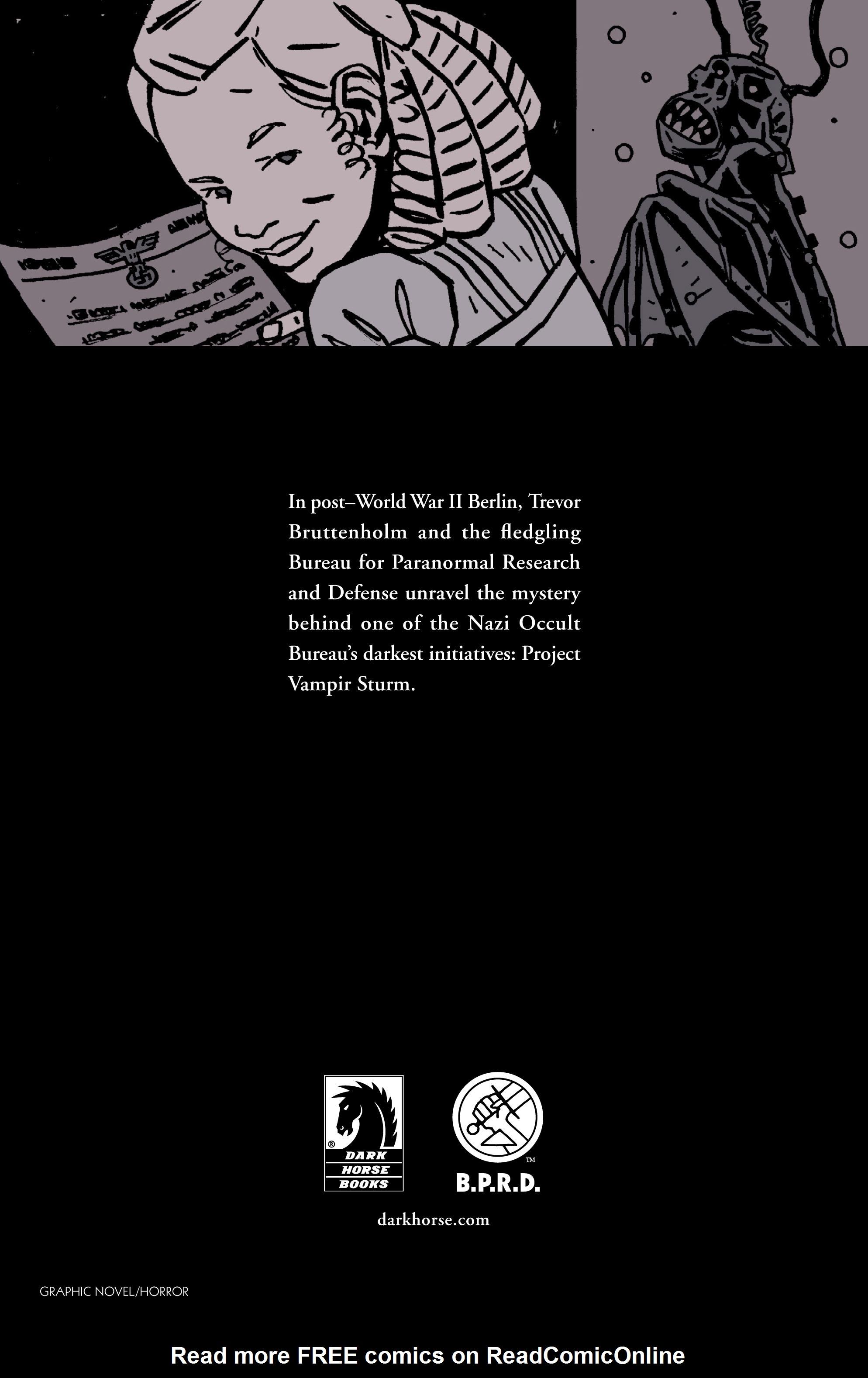 Read online B.P.R.D. (2003) comic -  Issue # TPB 9 - 153