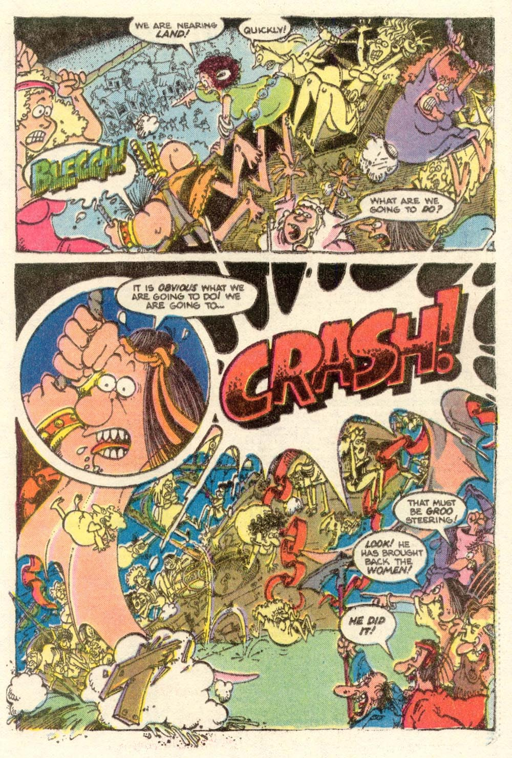 Read online Sergio Aragonés Groo the Wanderer comic -  Issue #4 - 20