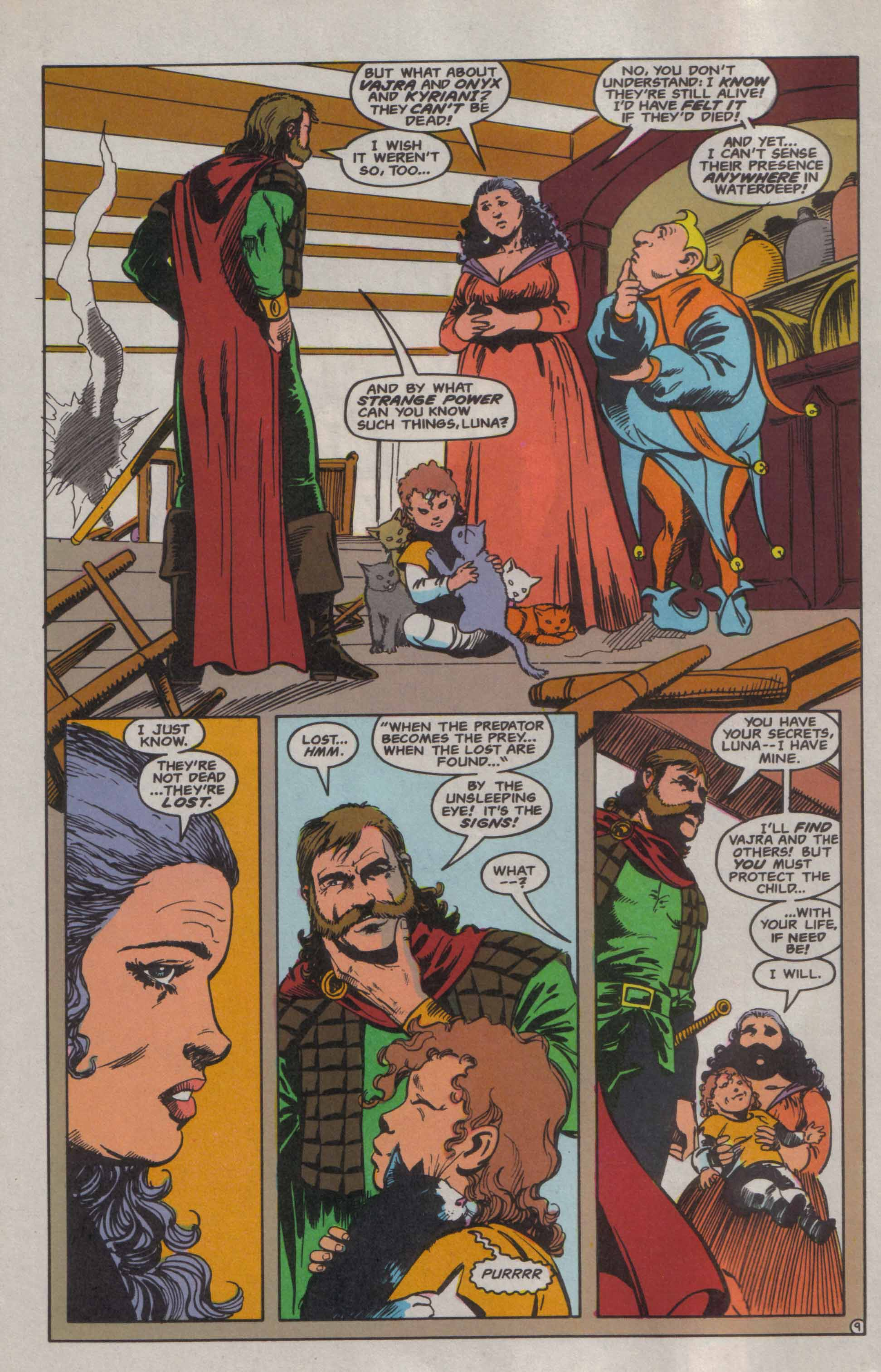 Read online Advanced Dungeons & Dragons comic -  Issue #6 - 10