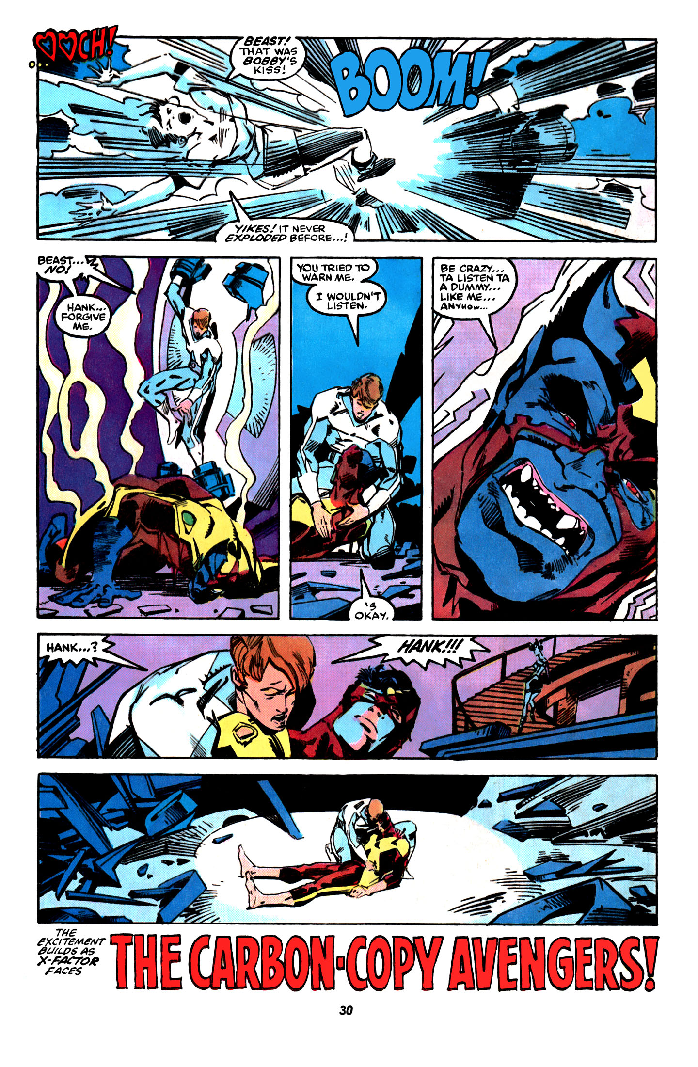 Read online X-Factor (1986) comic -  Issue #31 - 23