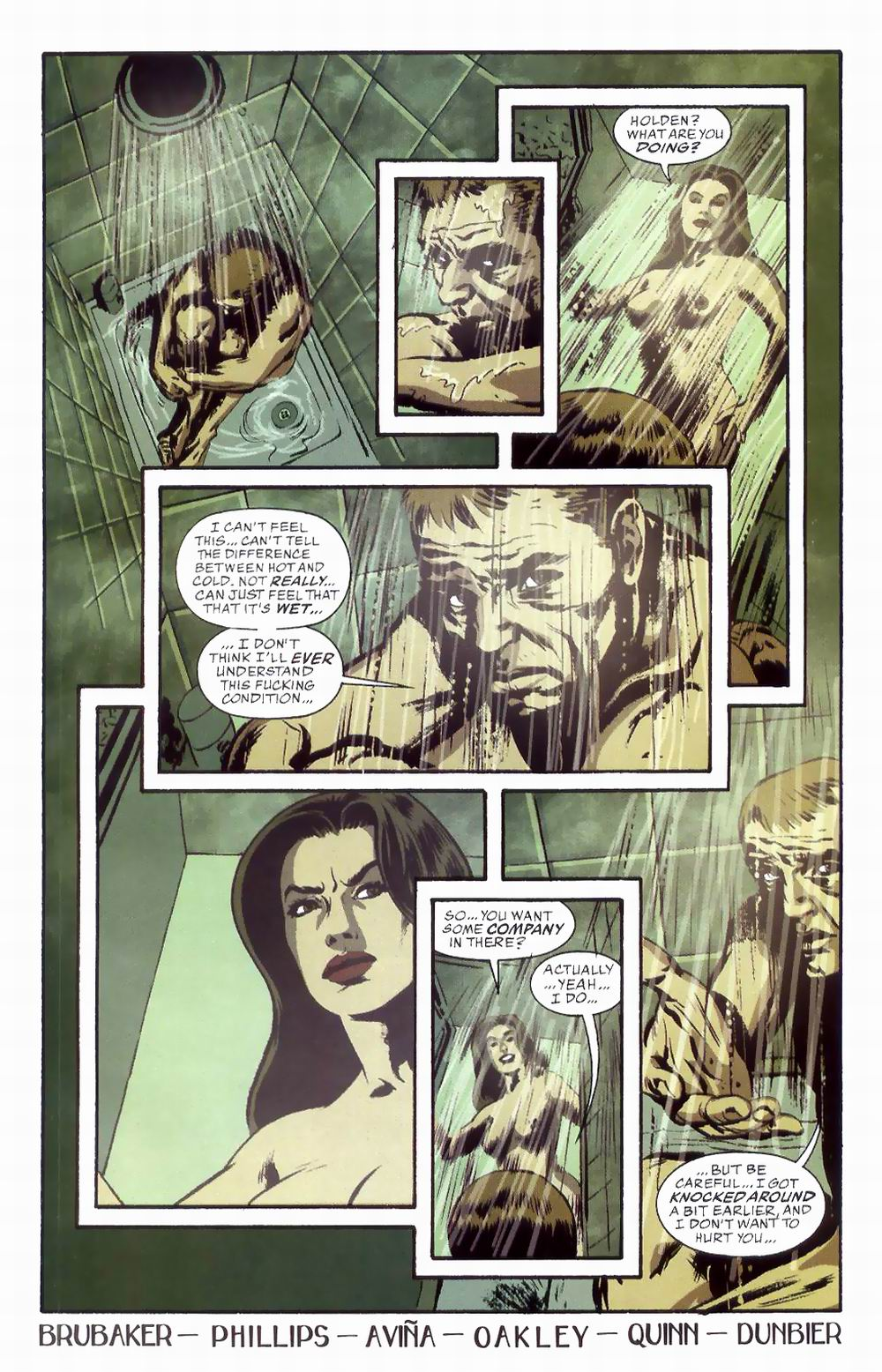 Read online Sleeper comic -  Issue #8 - 24