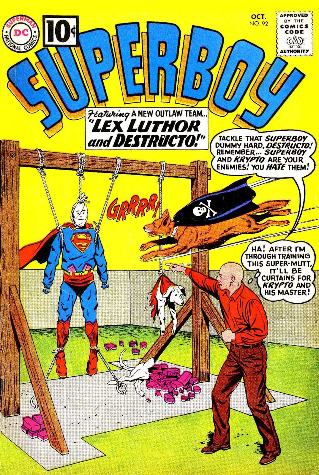 Superboy (1949) issue 92 - Page 1