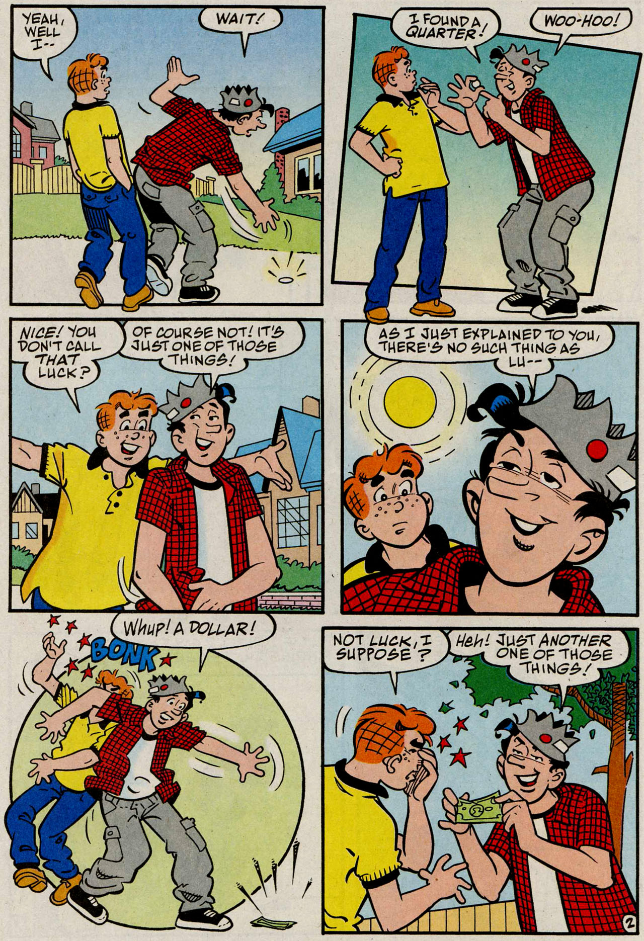 Read online Archie (1960) comic -  Issue #585 - 20