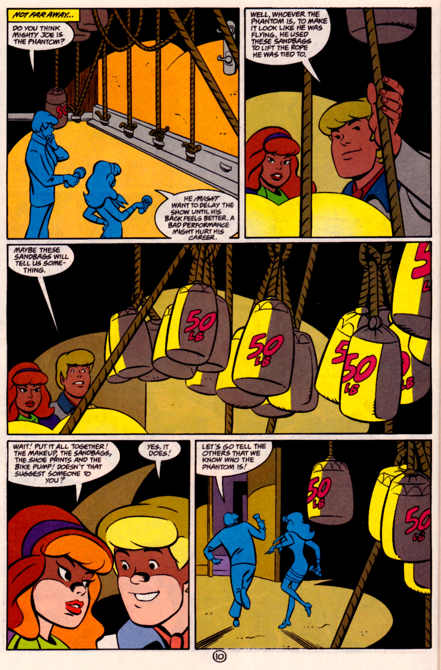 Read online Scooby-Doo (1997) comic -  Issue #31 - 11