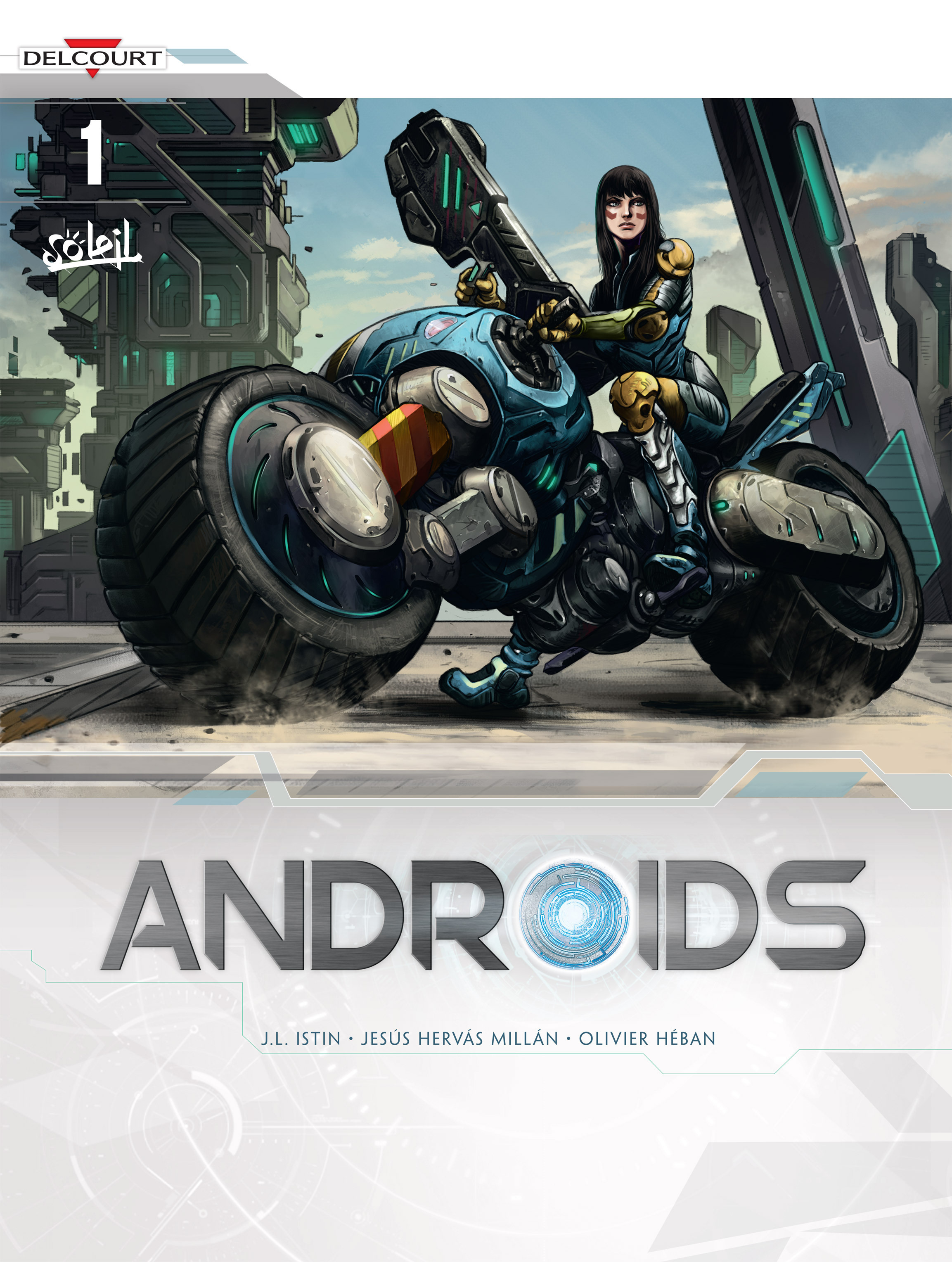 Read online Androïds comic -  Issue #1 - 1