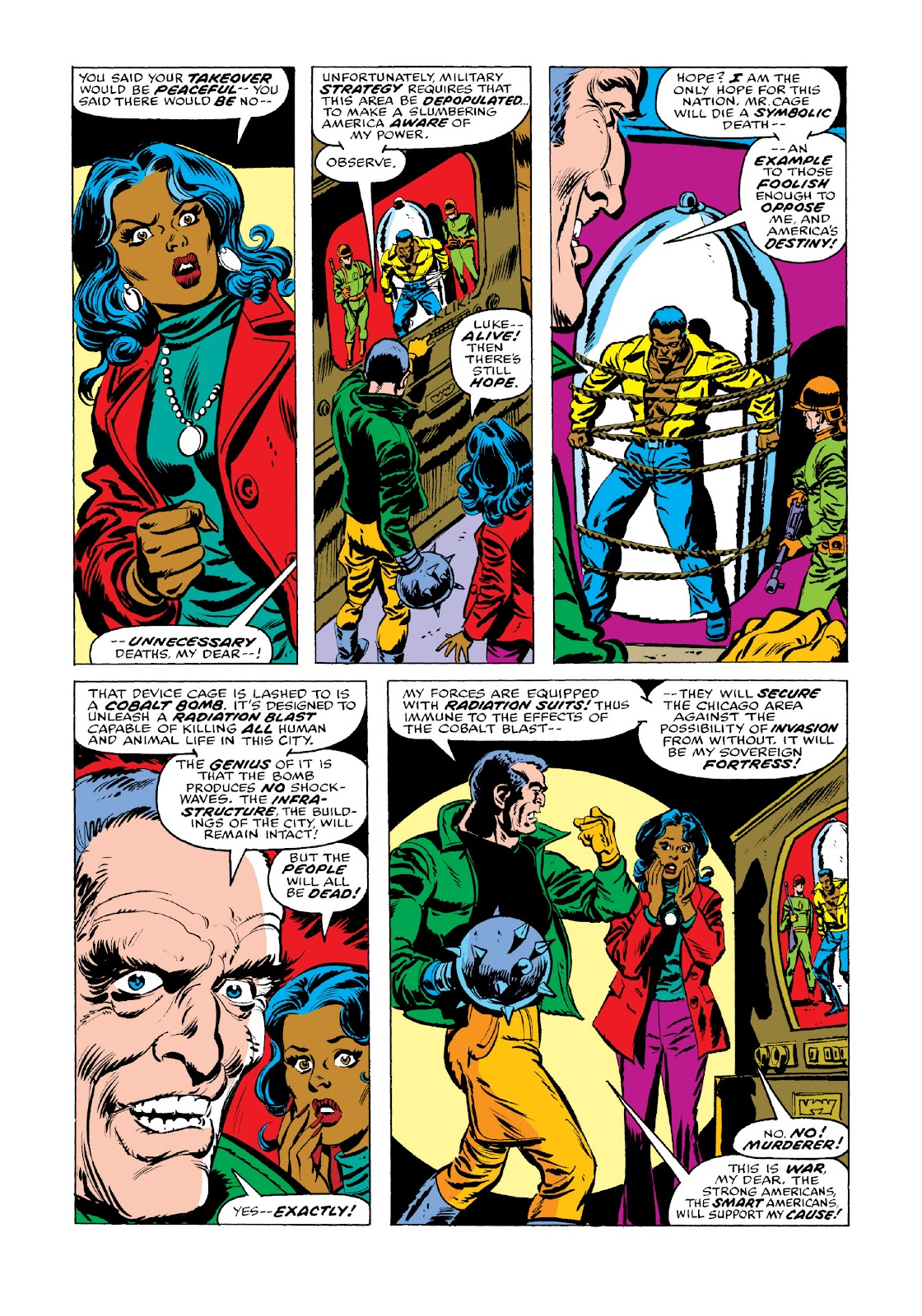 Read online Marvel Masterworks: Luke Cage, Power Man comic -  Issue # TPB 3 (Part 3) - 61