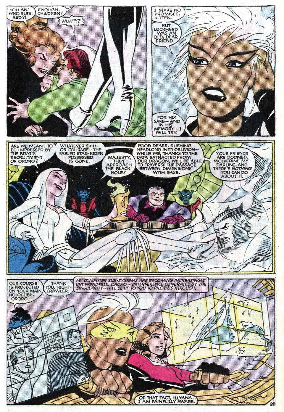 Read online Uncanny X-Men (1963) comic -  Issue # _Annual 8 - 31