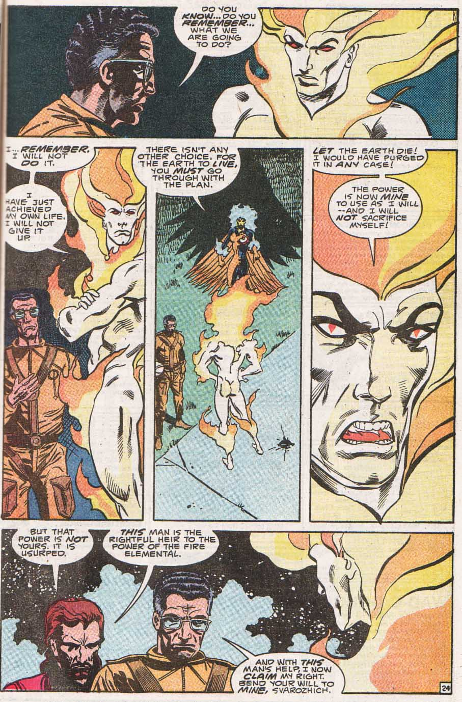 Firestorm, the Nuclear Man Issue #100 #36 - English 25