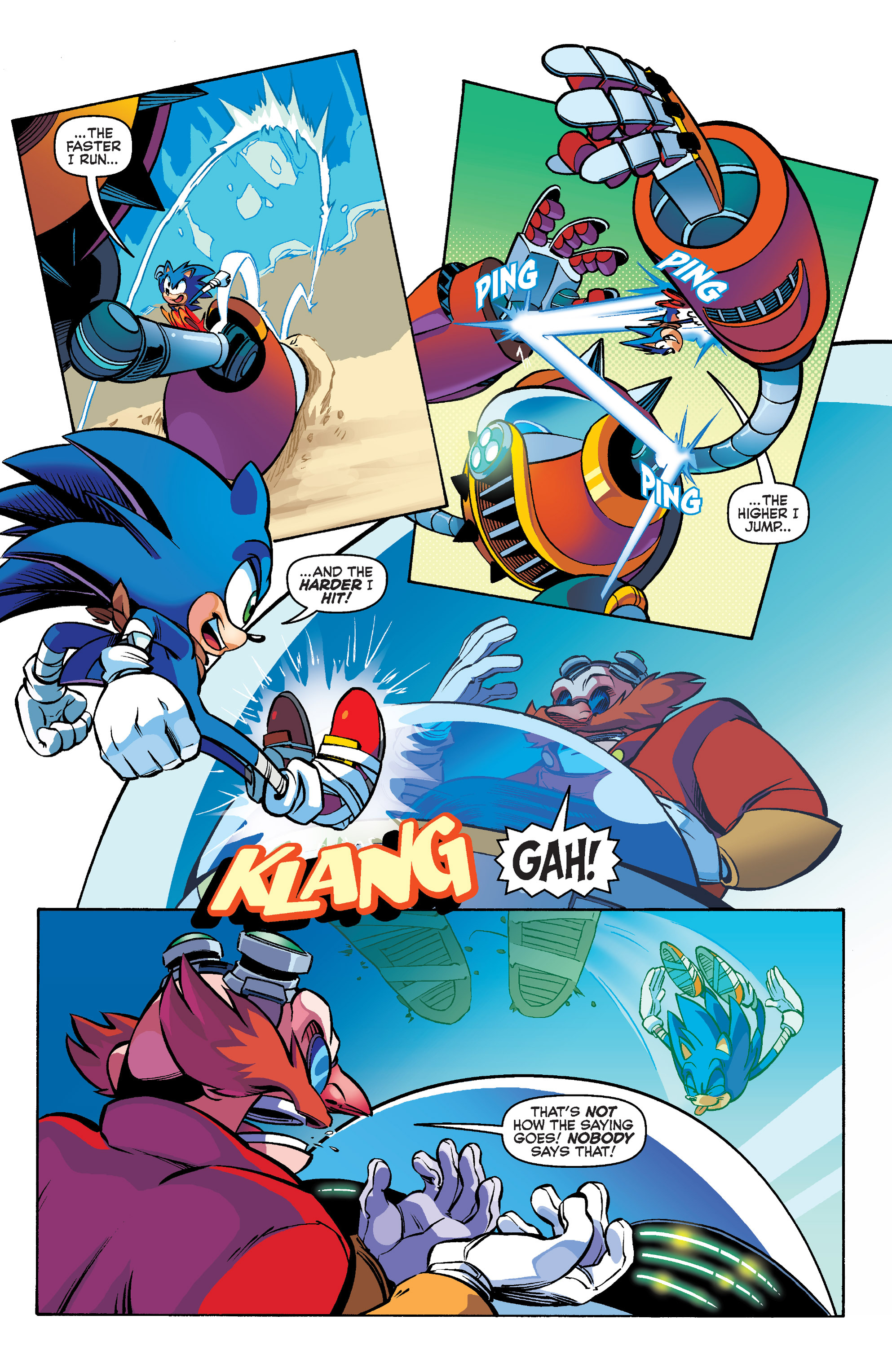 Read online Sonic Boom comic -  Issue #1 - 4