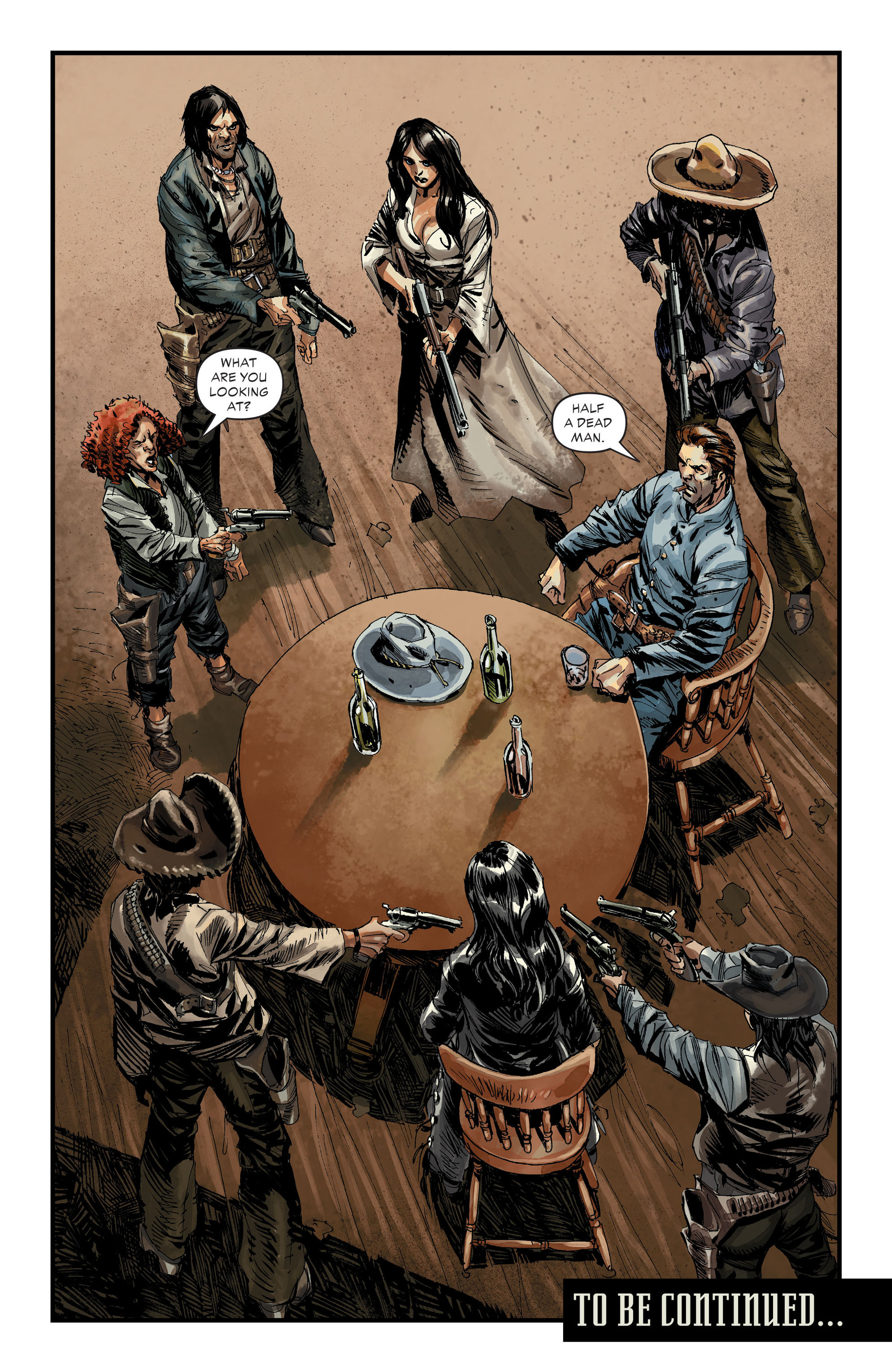 Read online All-Star Western (2011) comic -  Issue #30 - 13