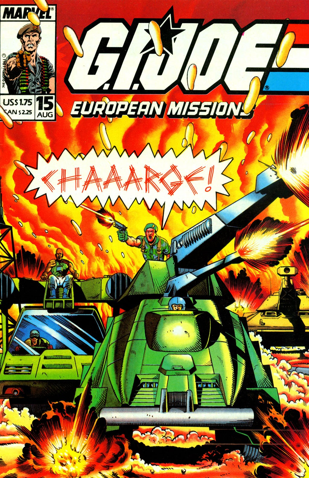 G.I. Joe European Missions issue 15 - Page 1