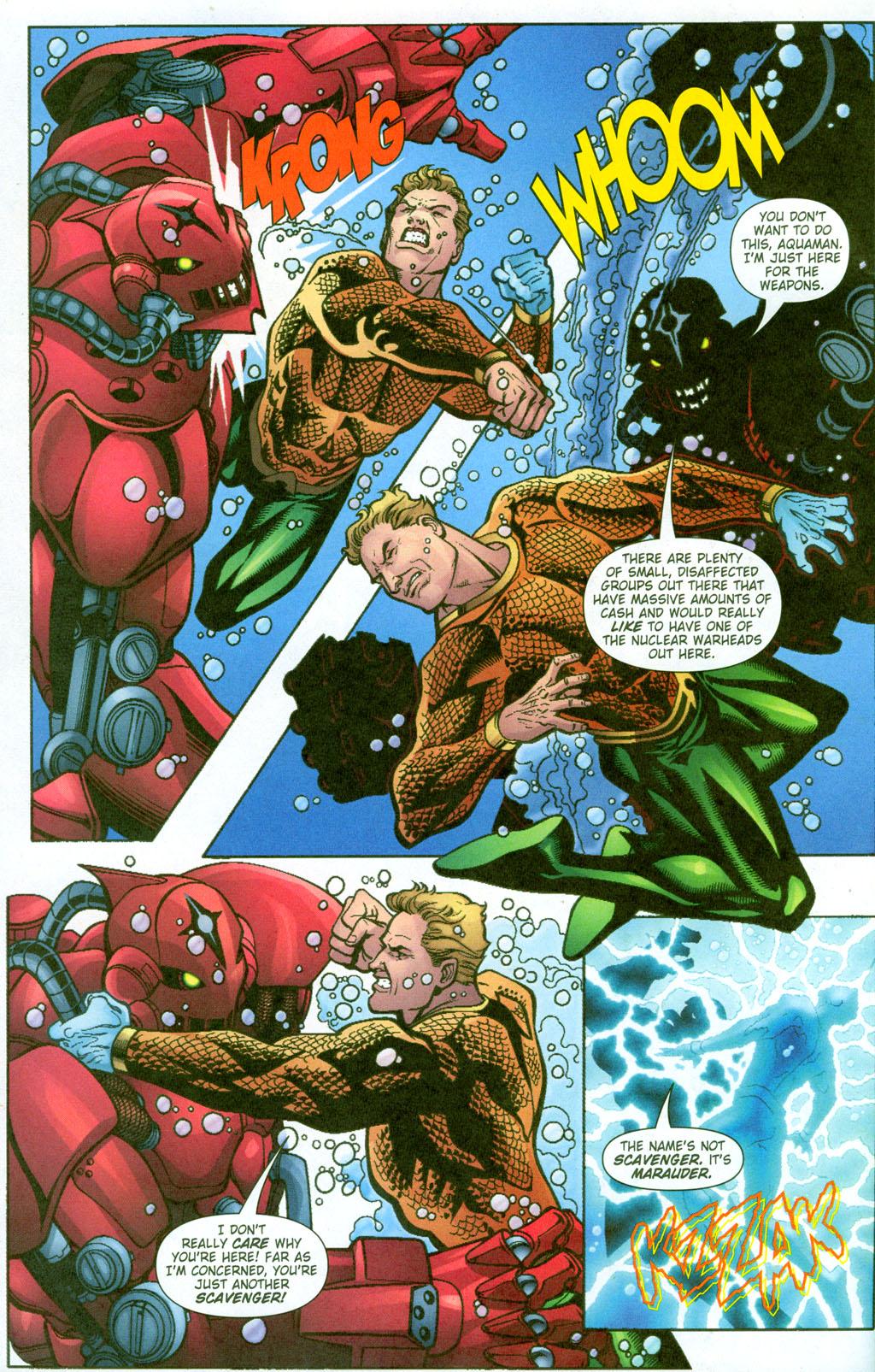 Read online Aquaman (2003) comic -  Issue #23 - 19