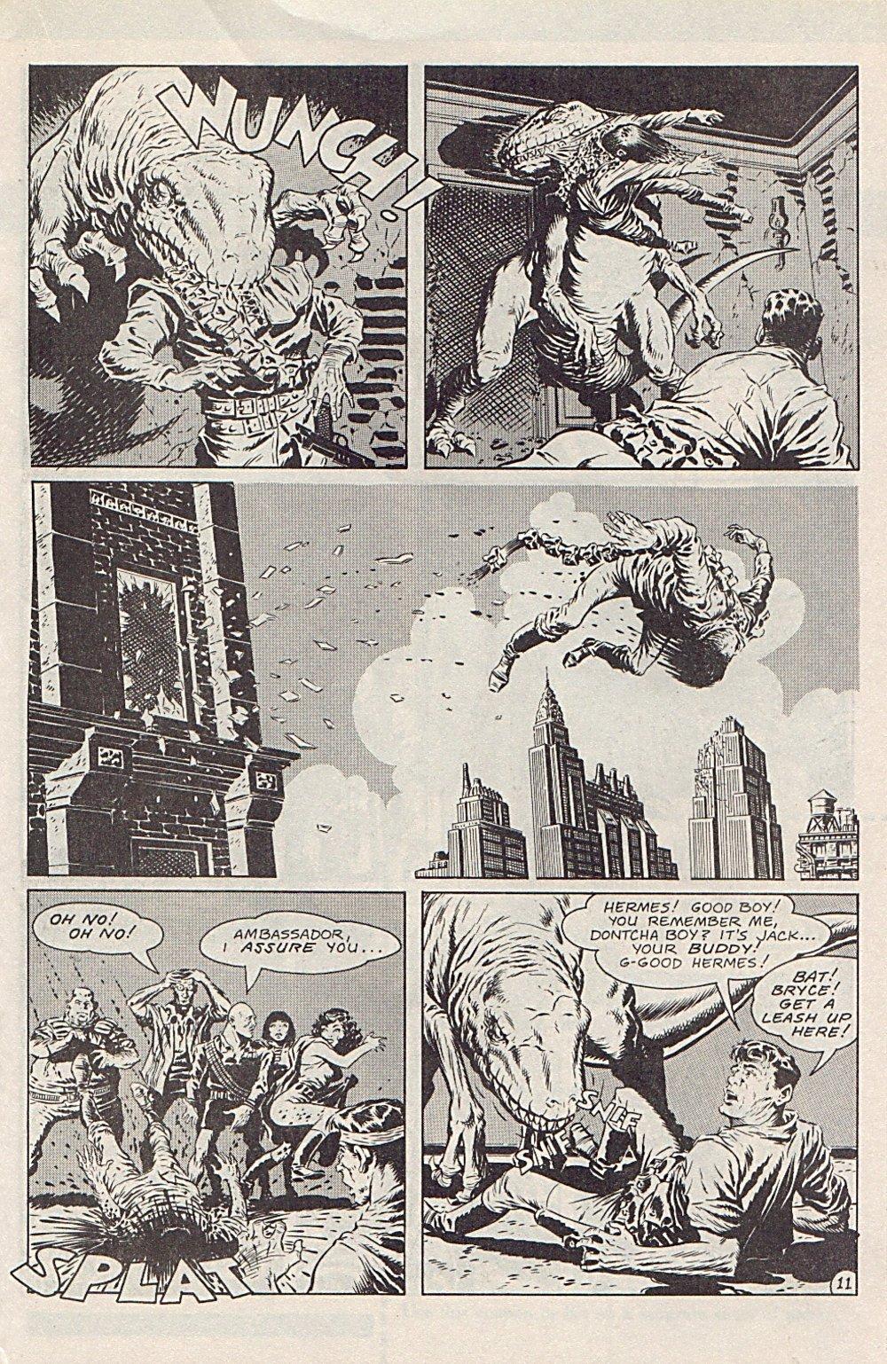 Read online Xenozoic Tales comic -  Issue #1 - 14