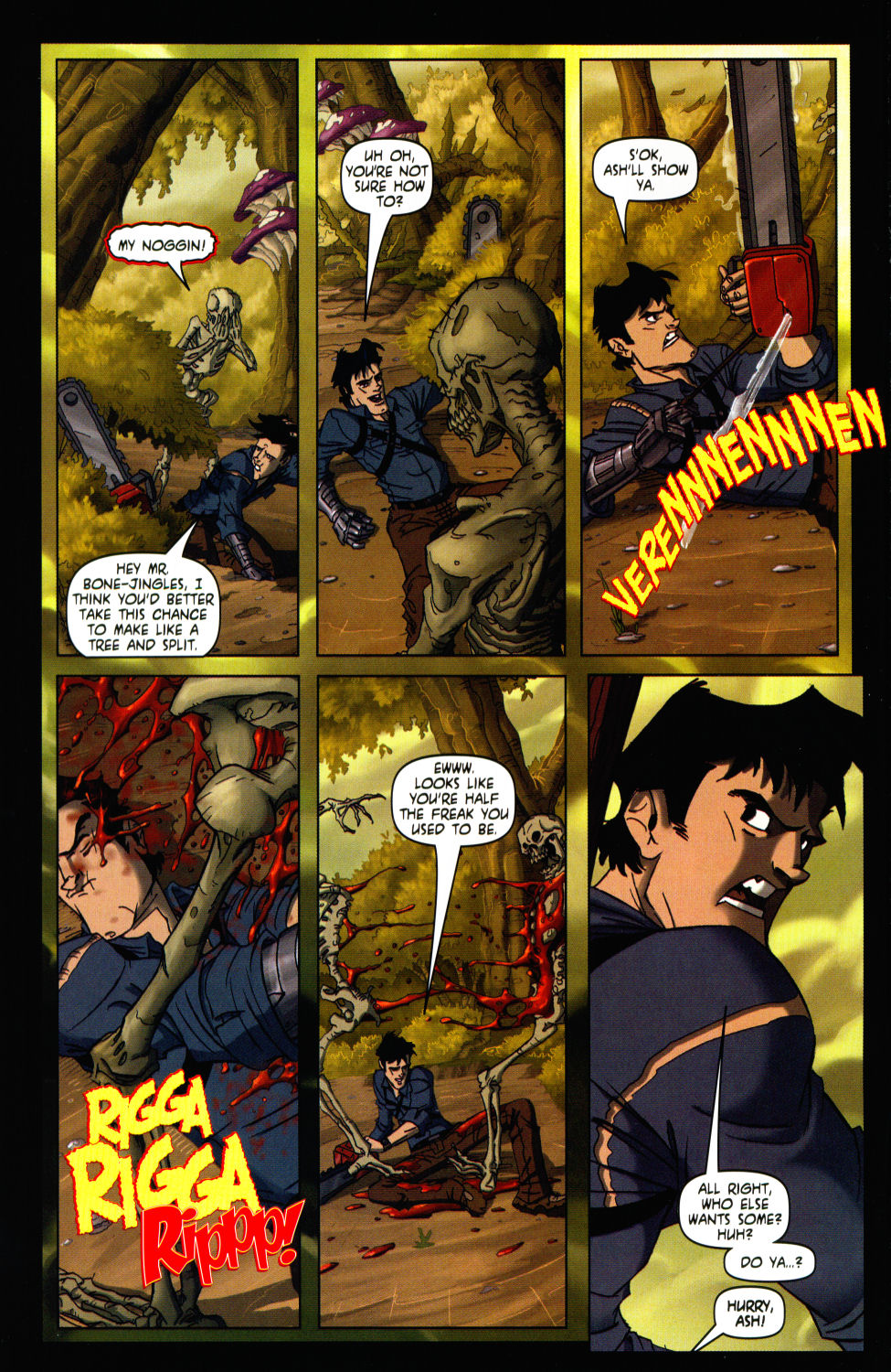 Read online Army of Darkness vs. Re-Animator comic -  Issue #3 - 10