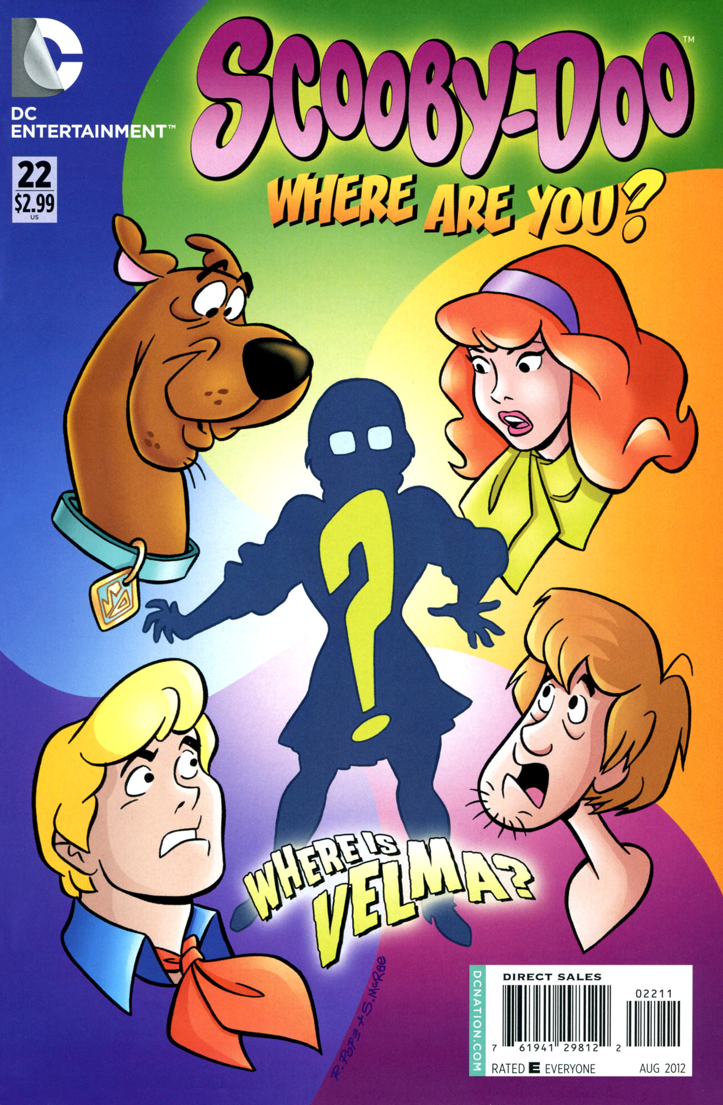Read online Scooby-Doo: Where Are You? comic -  Issue #22 - 1