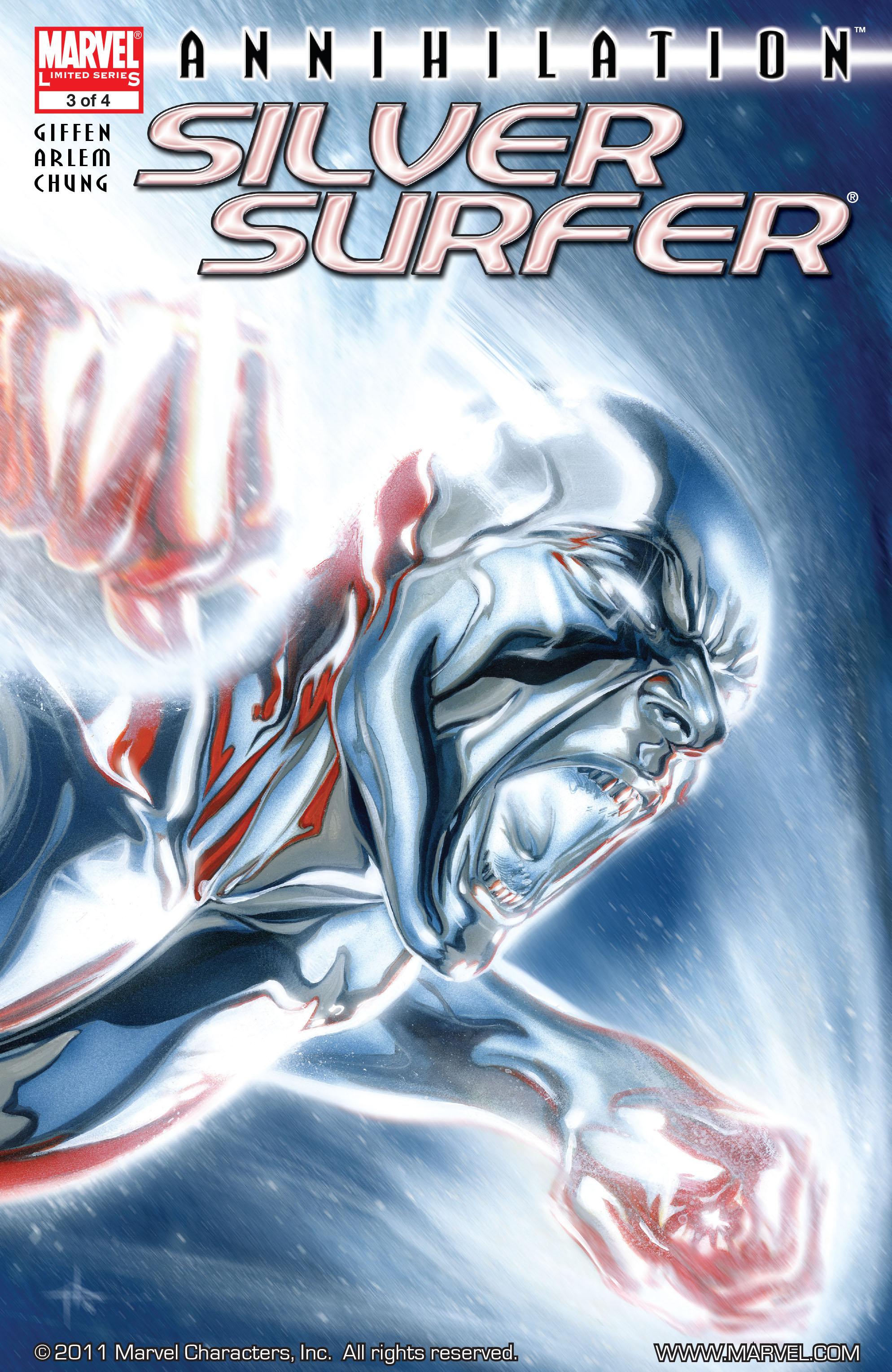 Read online Annihilation: Silver Surfer comic -  Issue #3 - 1