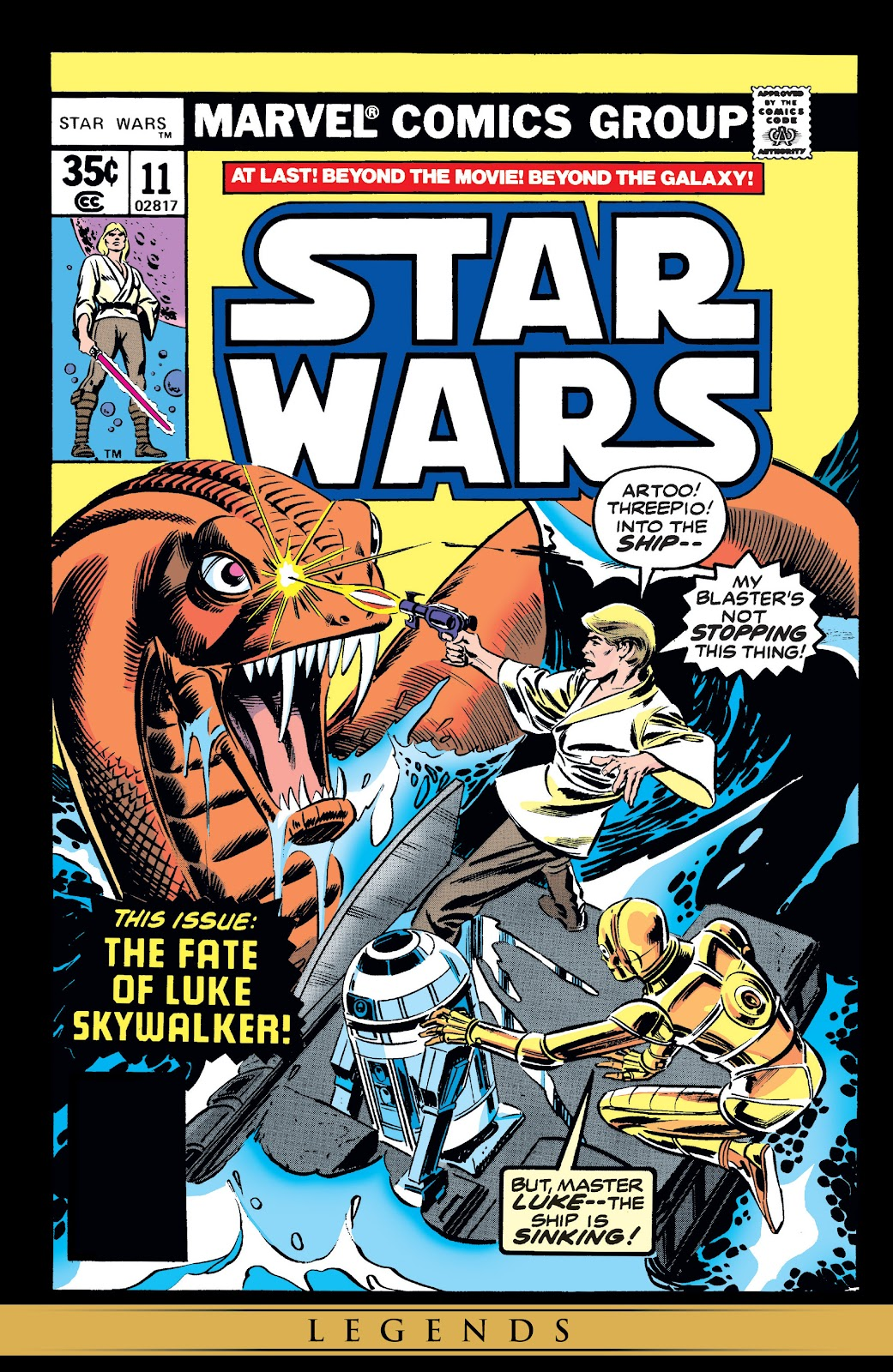 Read online Star Wars Legends: The Original Marvel Years - Epic Collection comic -  Issue # TPB 1 (Part 2) - 90
