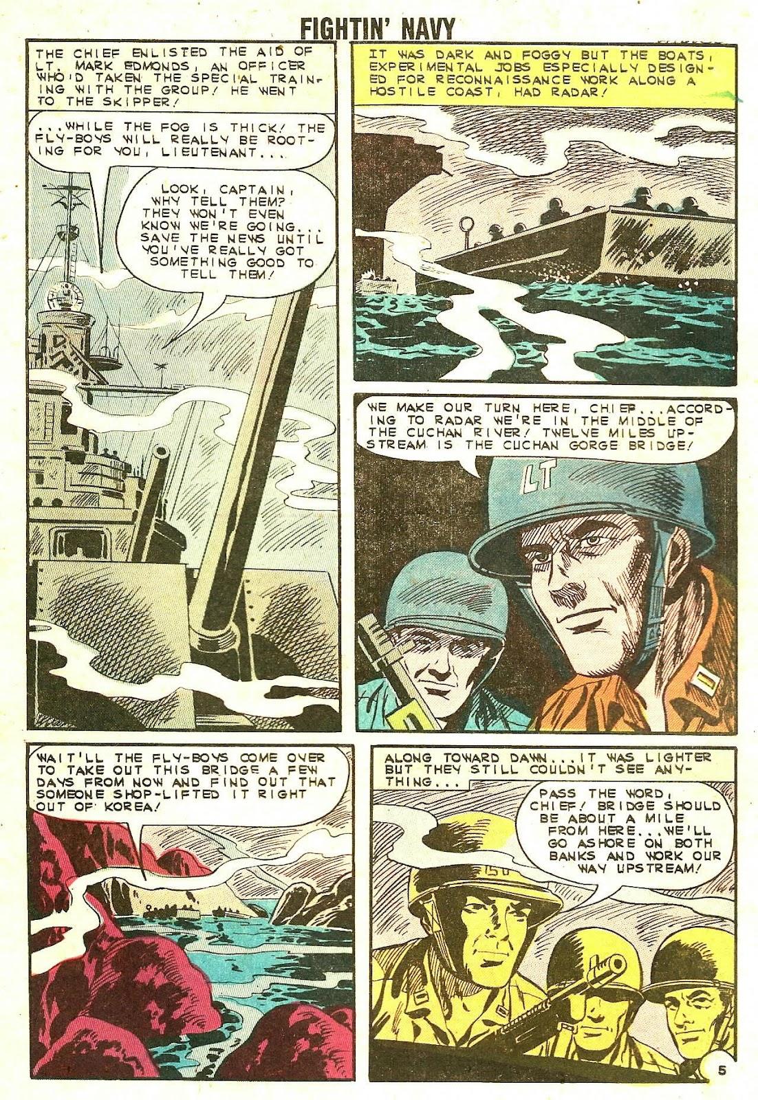 Read online Fightin' Navy comic -  Issue #110 - 32