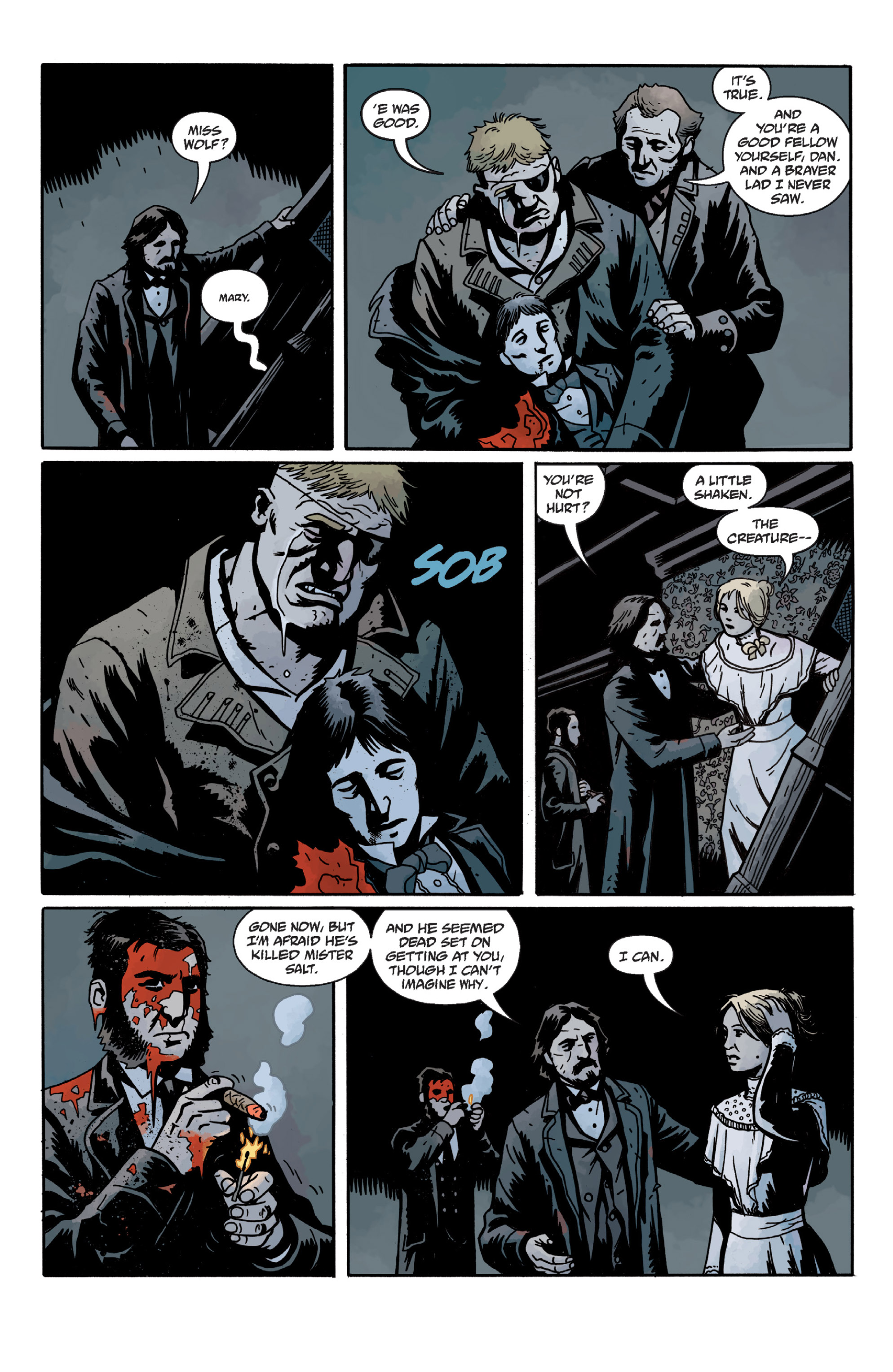 Read online Sir Edward Grey, Witchfinder: In the Service of Angels comic -  Issue # TPB - 61