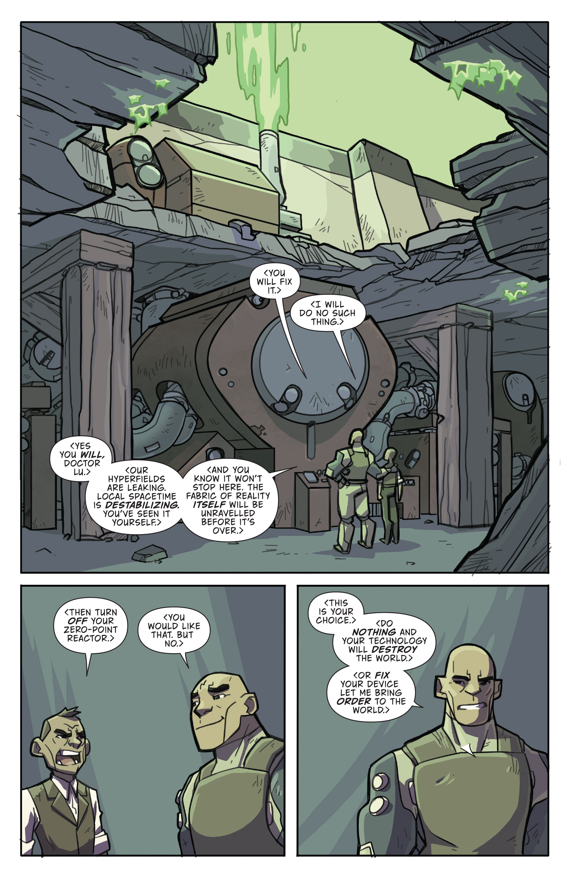 Read online Atomic Robo and the Temple of Od comic -  Issue #4 - 10