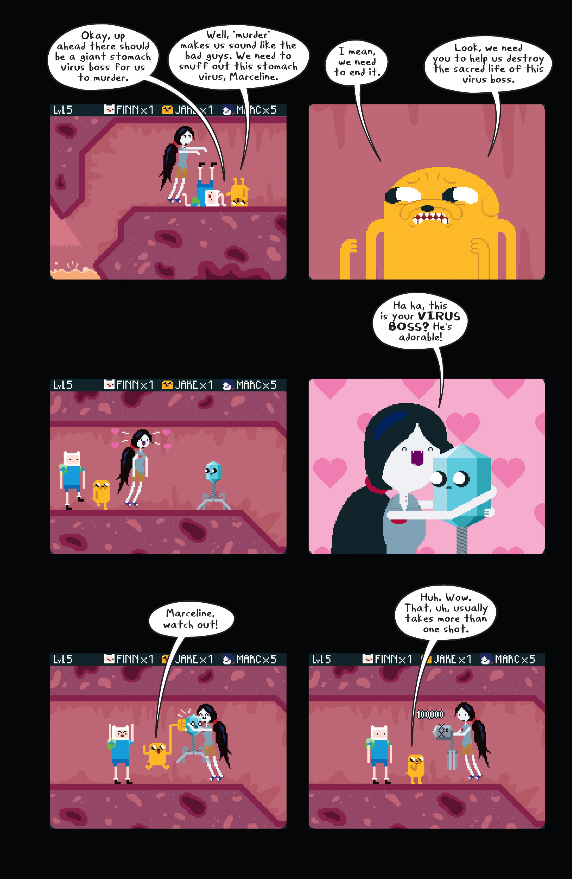 Read online Adventure Time comic -  Issue #11 - 15