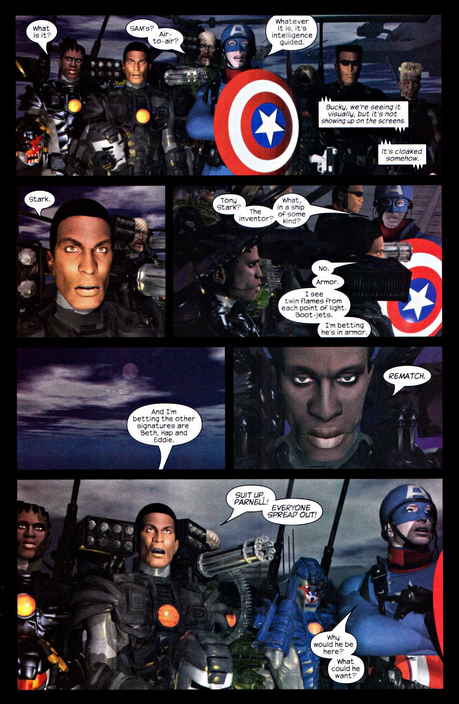 Read online U.S. War Machine 2.0 comic -  Issue #2 - 23