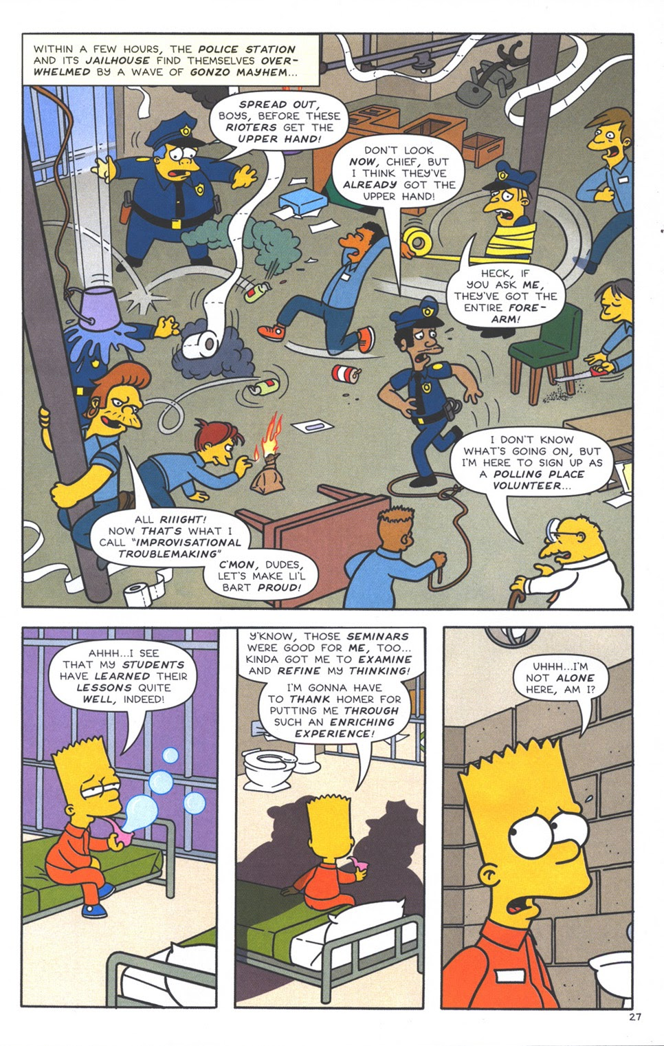 Read online The Simpsons Winter Wingding comic -  Issue #3 - 29