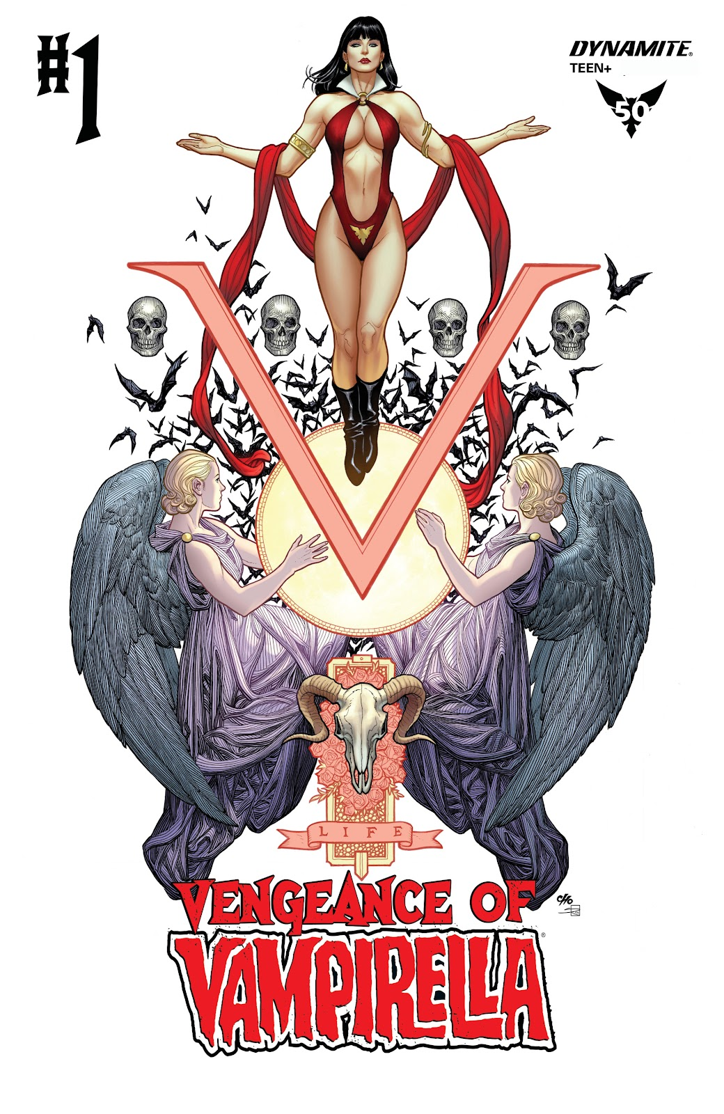 Read online Vengeance of Vampirella (2019) comic -  Issue #1 - 2