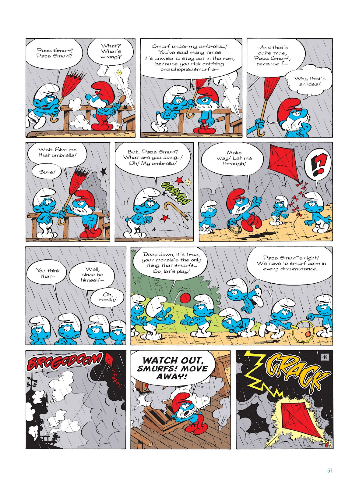 Read online The Smurfs comic -  Issue #14 - 52