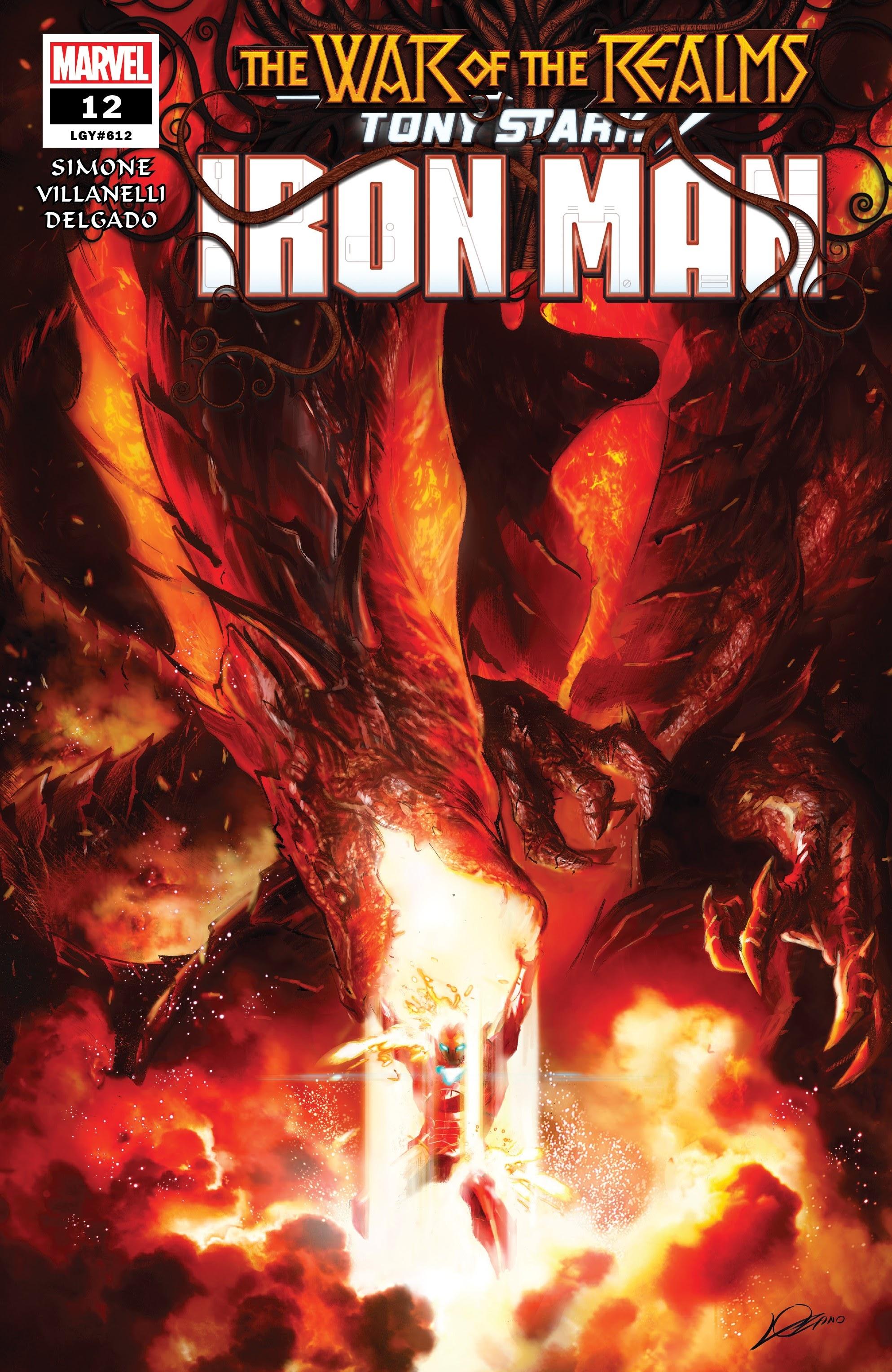 Tony Stark: Iron Man 12 Page 1