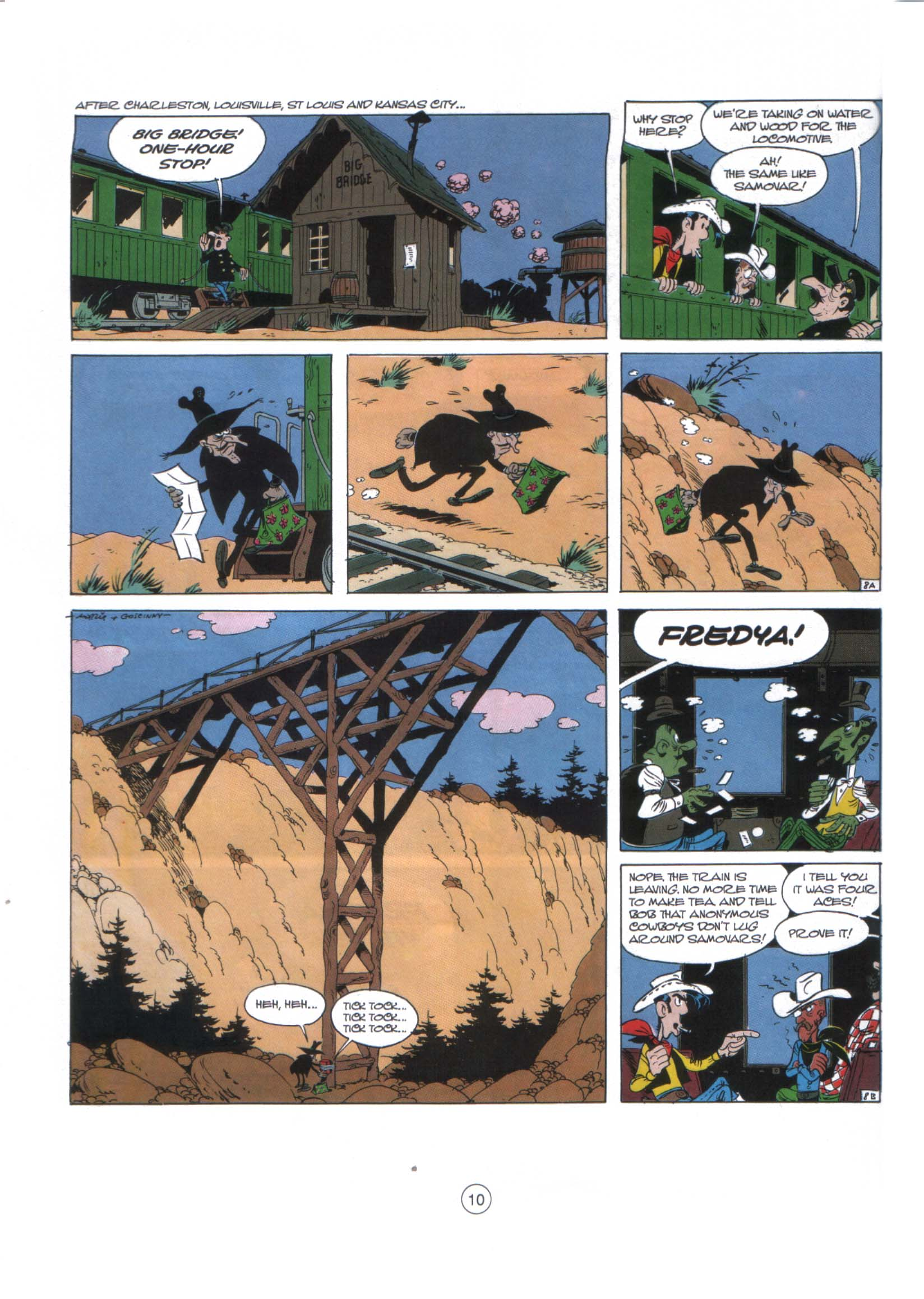 Read online A Lucky Luke Adventure comic -  Issue #29 - 9