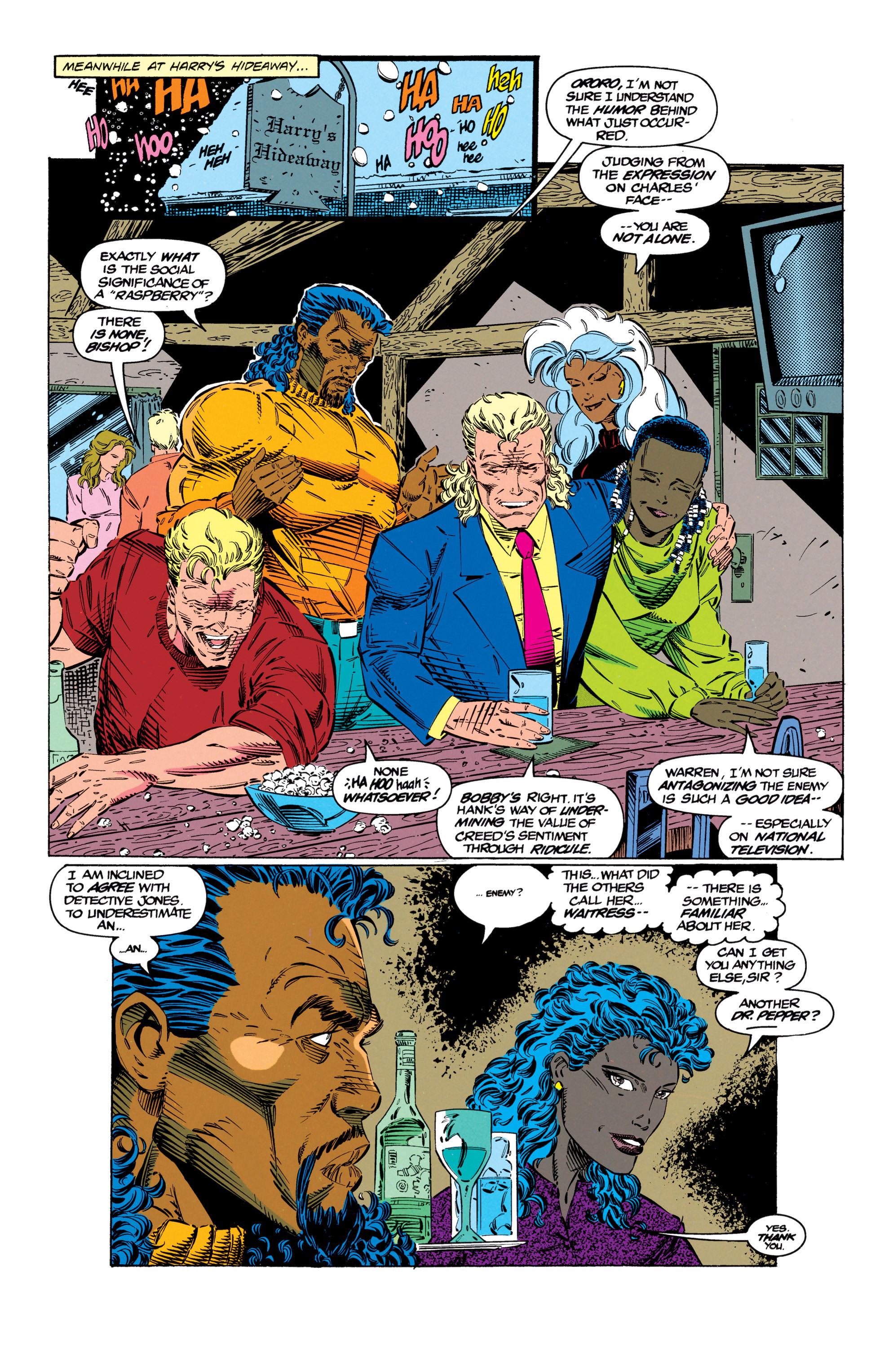 Read online Uncanny X-Men (1963) comic -  Issue #299 - 19