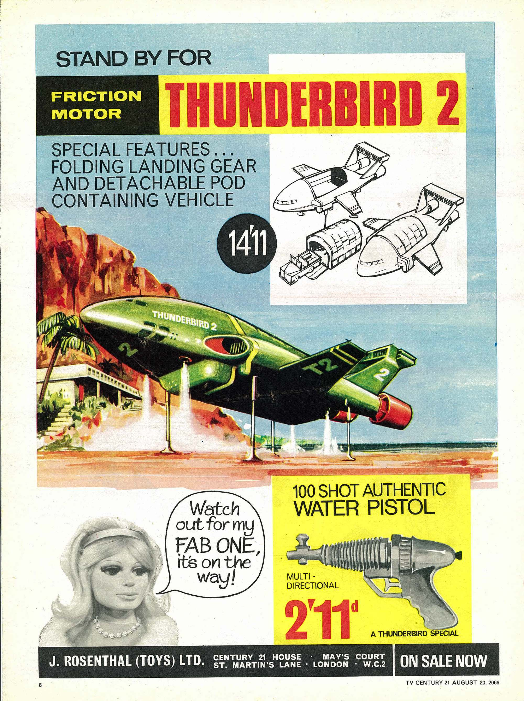 Read online TV Century 21 (TV 21) comic -  Issue #83 - 8