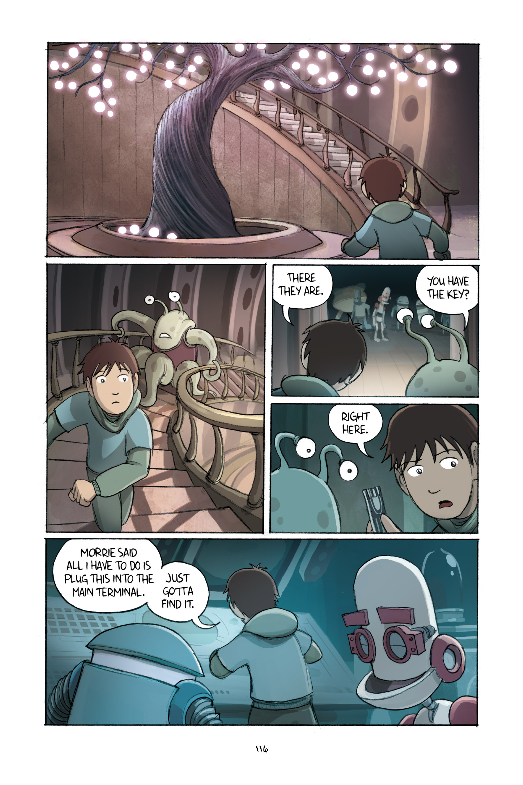 Read online Amulet comic -  Issue #2 - 116
