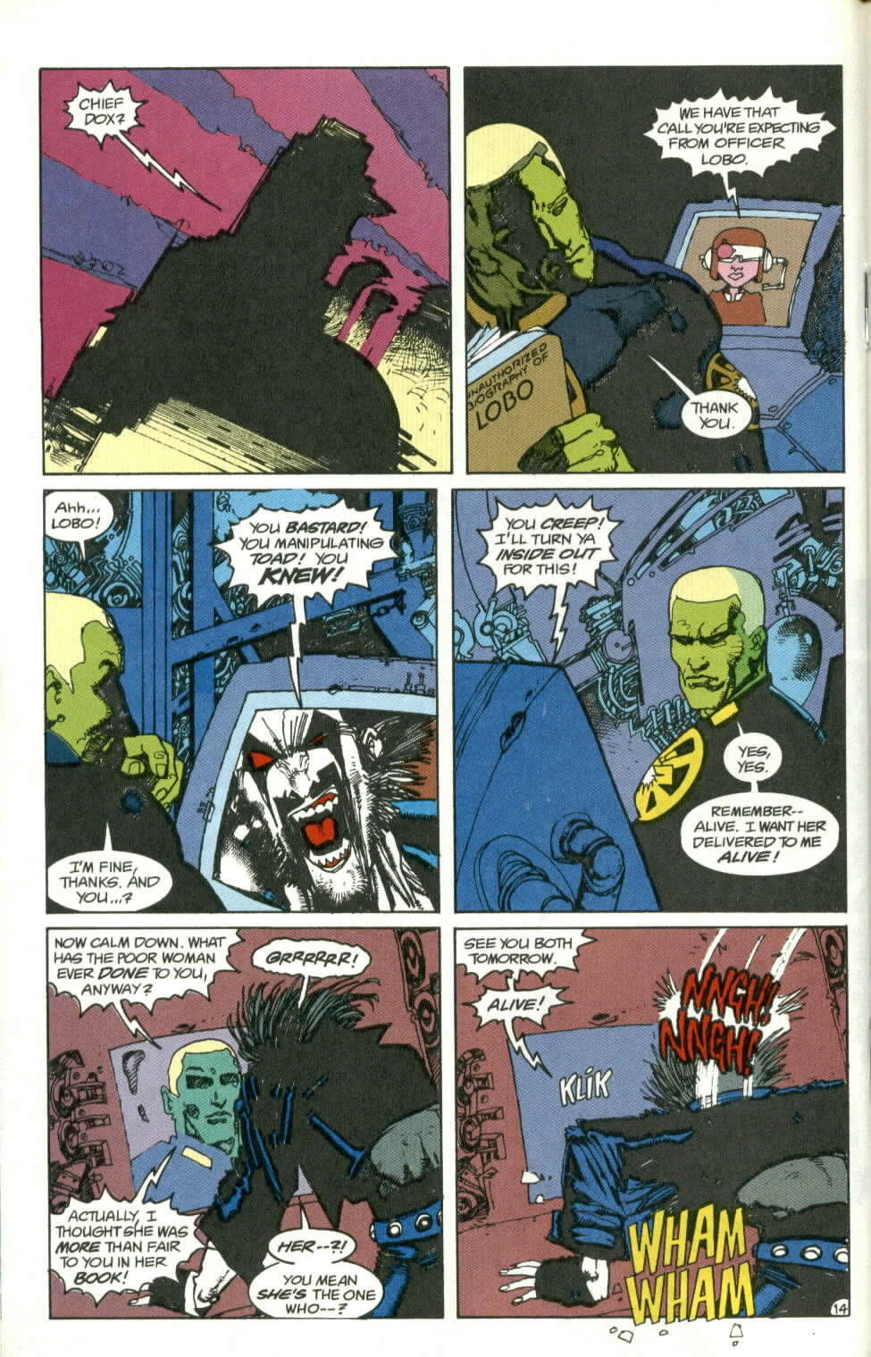 Read online Lobo (1990) comic -  Issue #1 - 15