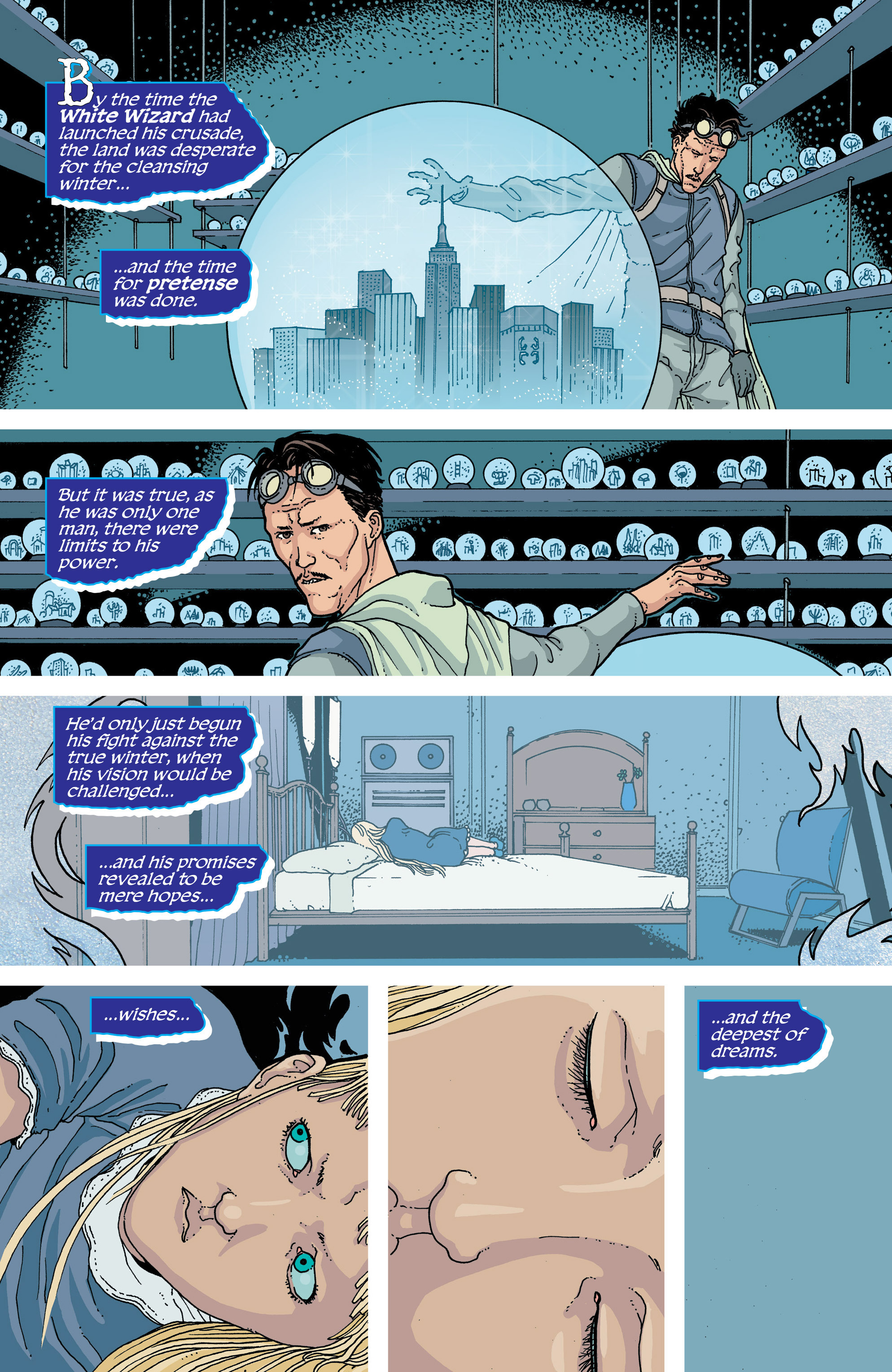 Read online Snowfall comic -  Issue #5 - 9