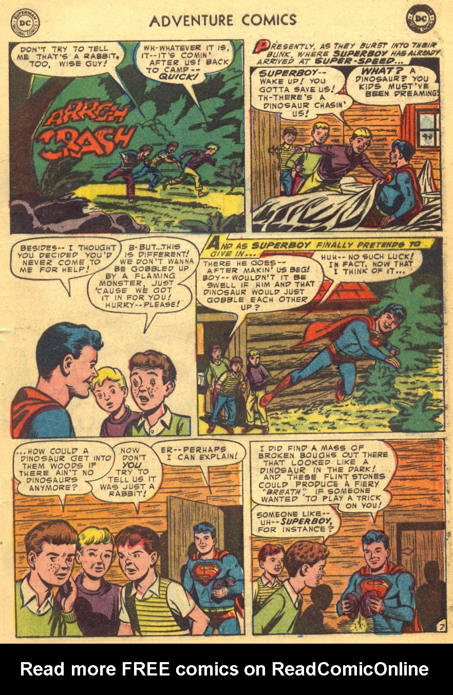 Read online Adventure Comics (1938) comic -  Issue #203 - 9