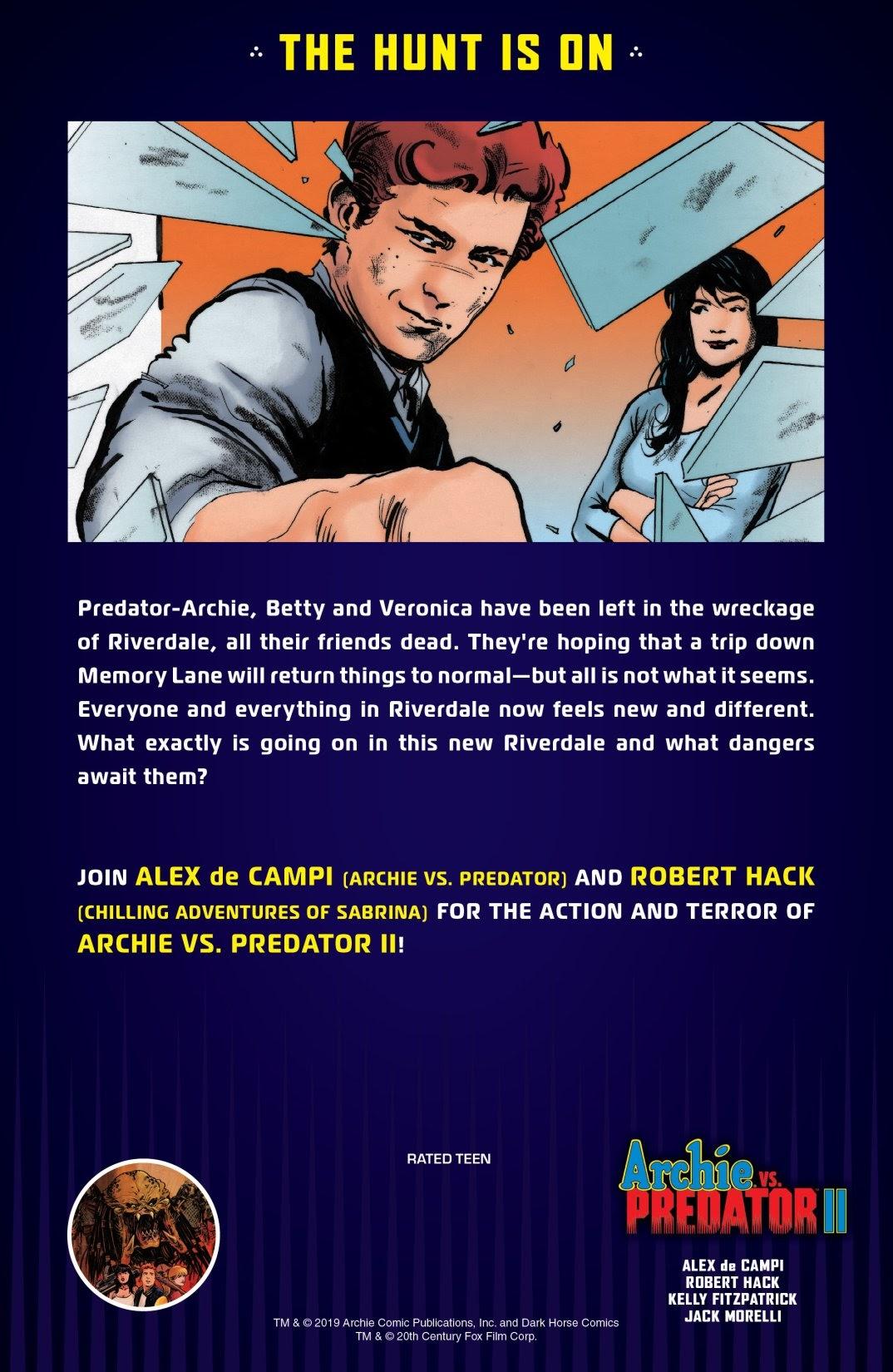 Archie vs. Predator II #1 #1 - English 28