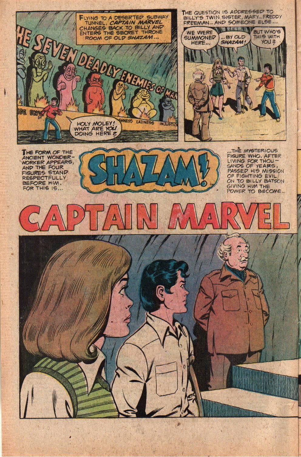 Read online Shazam! (1973) comic -  Issue #26 - 4