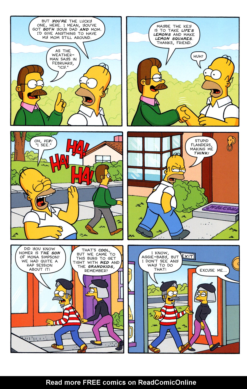 Read online Simpsons Comics comic -  Issue #204 - 14