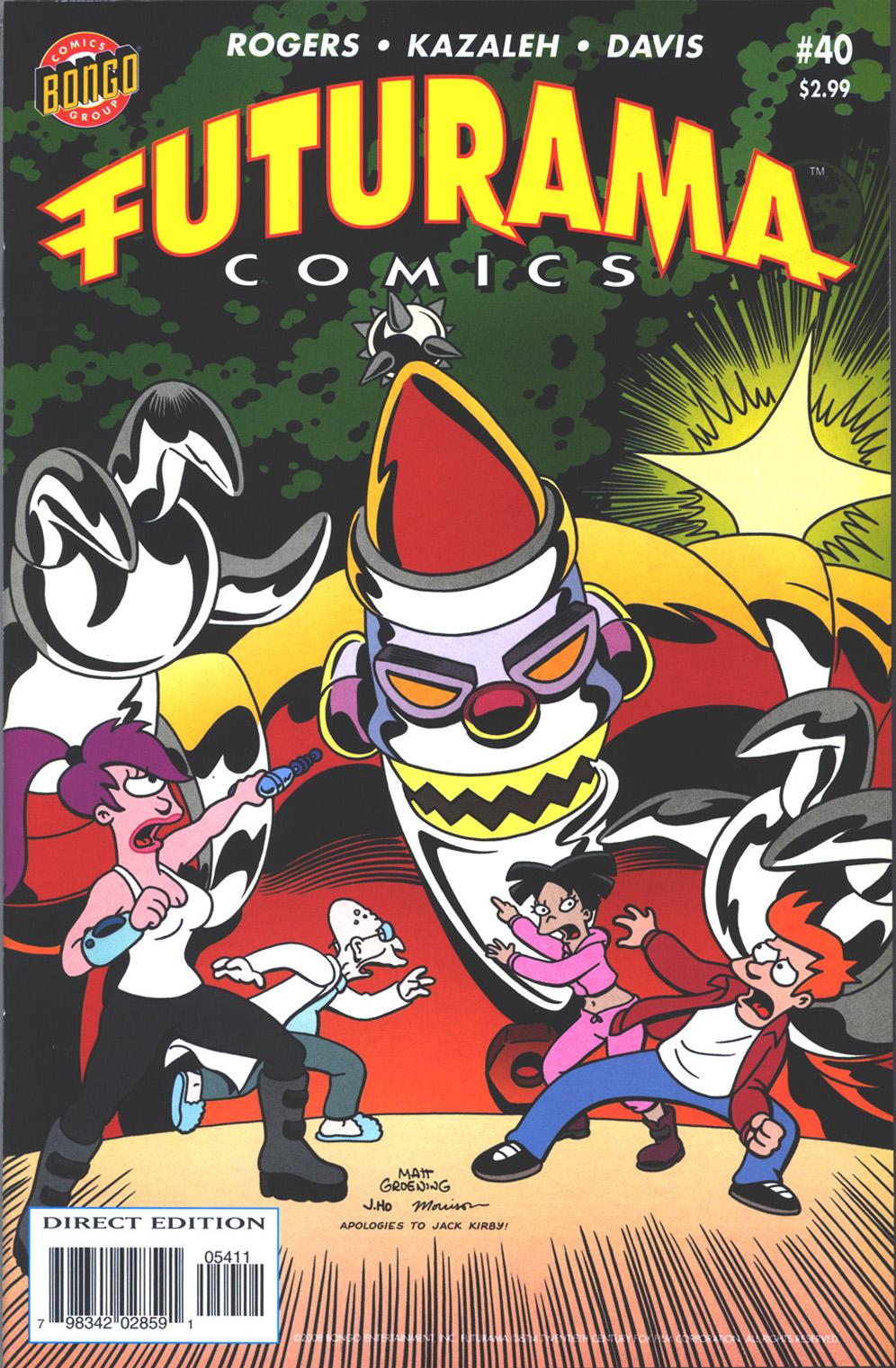 Futurama Comics issue 40 - Page 1