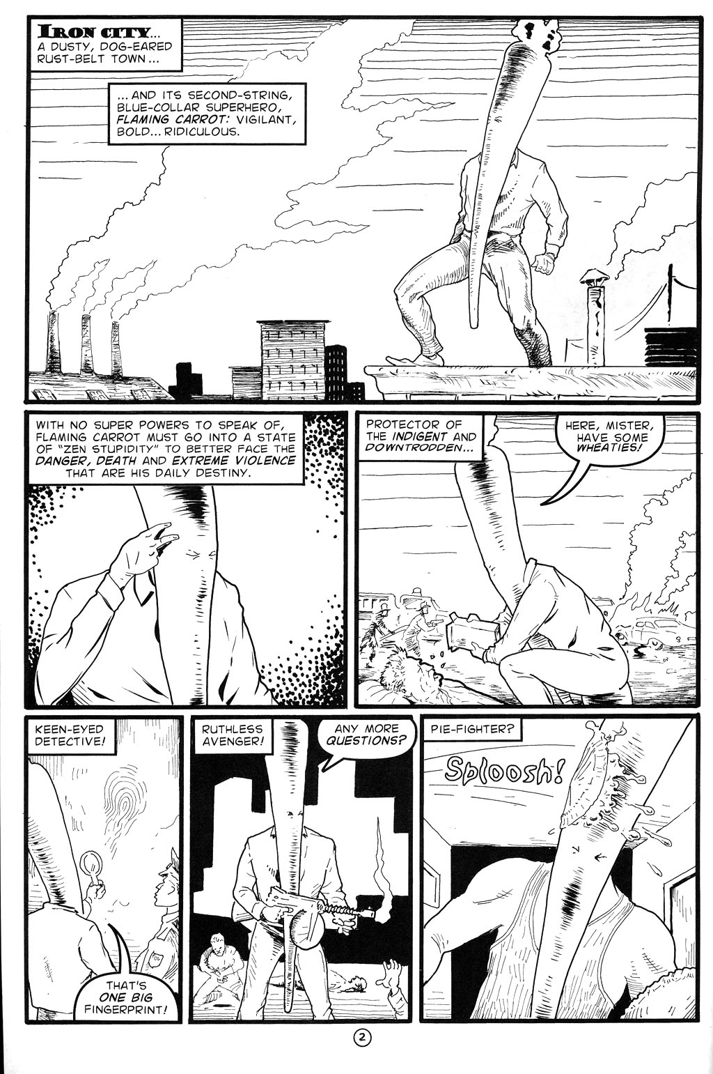 Read online Flaming Carrot Comics (2004) comic -  Issue #4 - 4